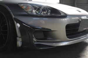 S2000 ディフェンドレーシングカナード画像