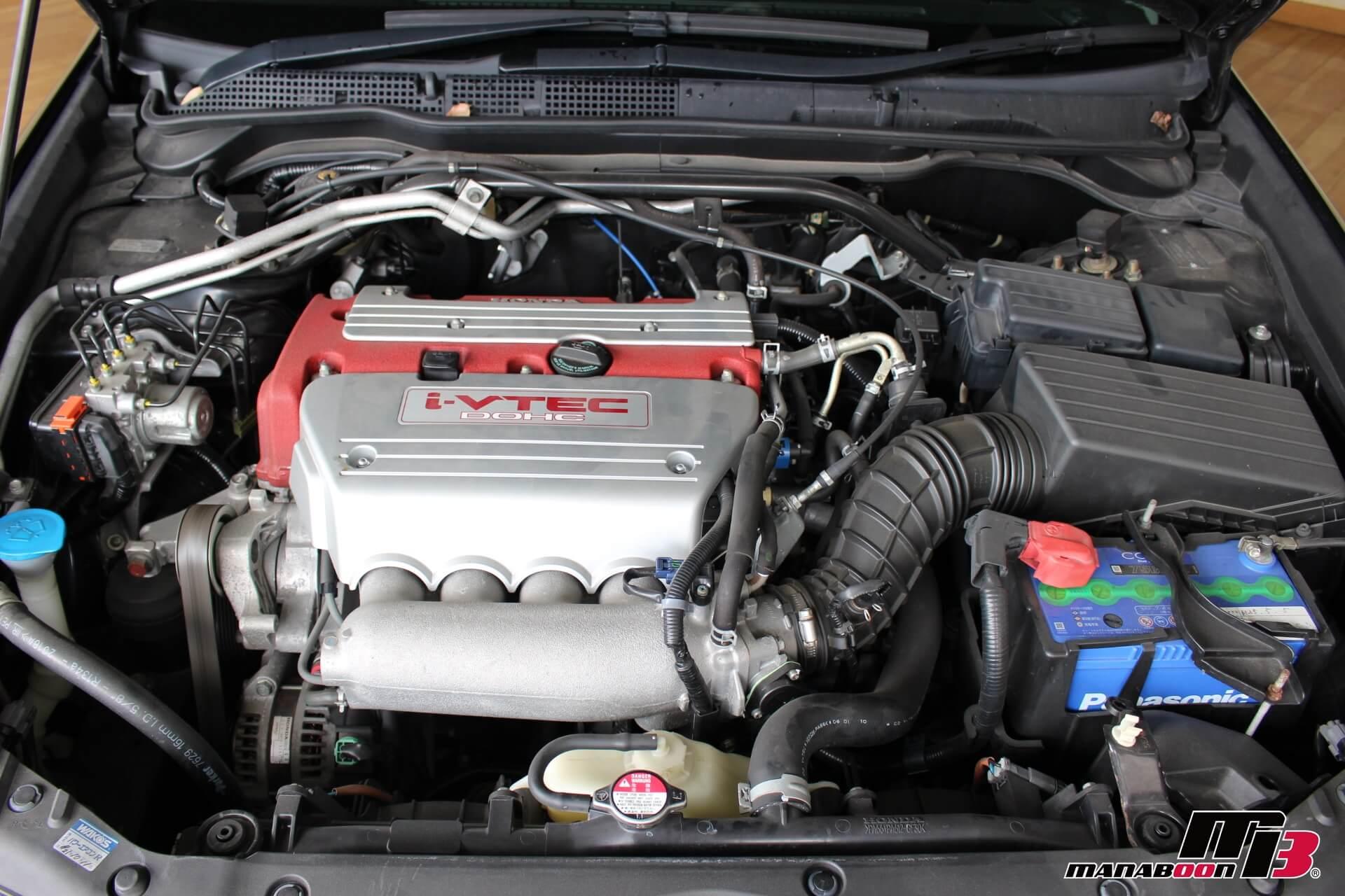 後期型CL7 アコードユーロRエンジン画像