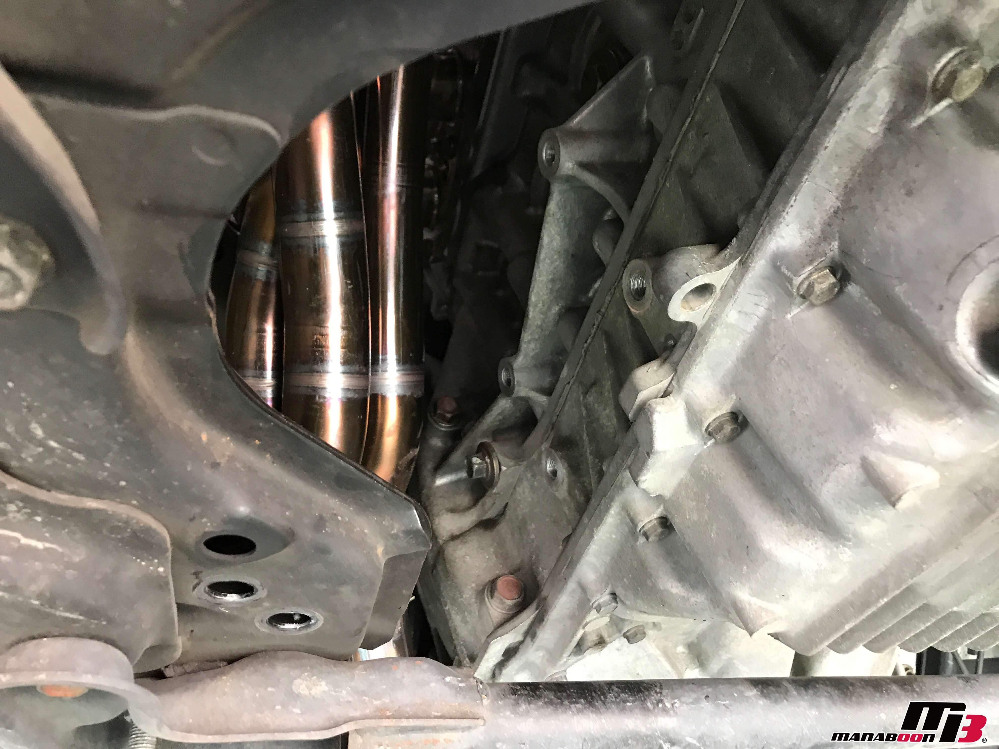 S2000エンジンマウント取り外し後画像