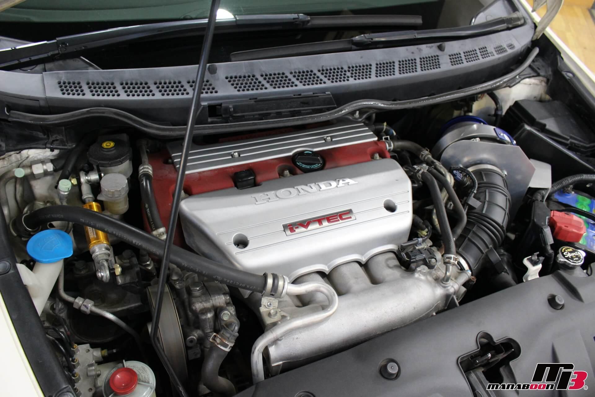 シビックタイプR(FD2)エンジンルーム画像