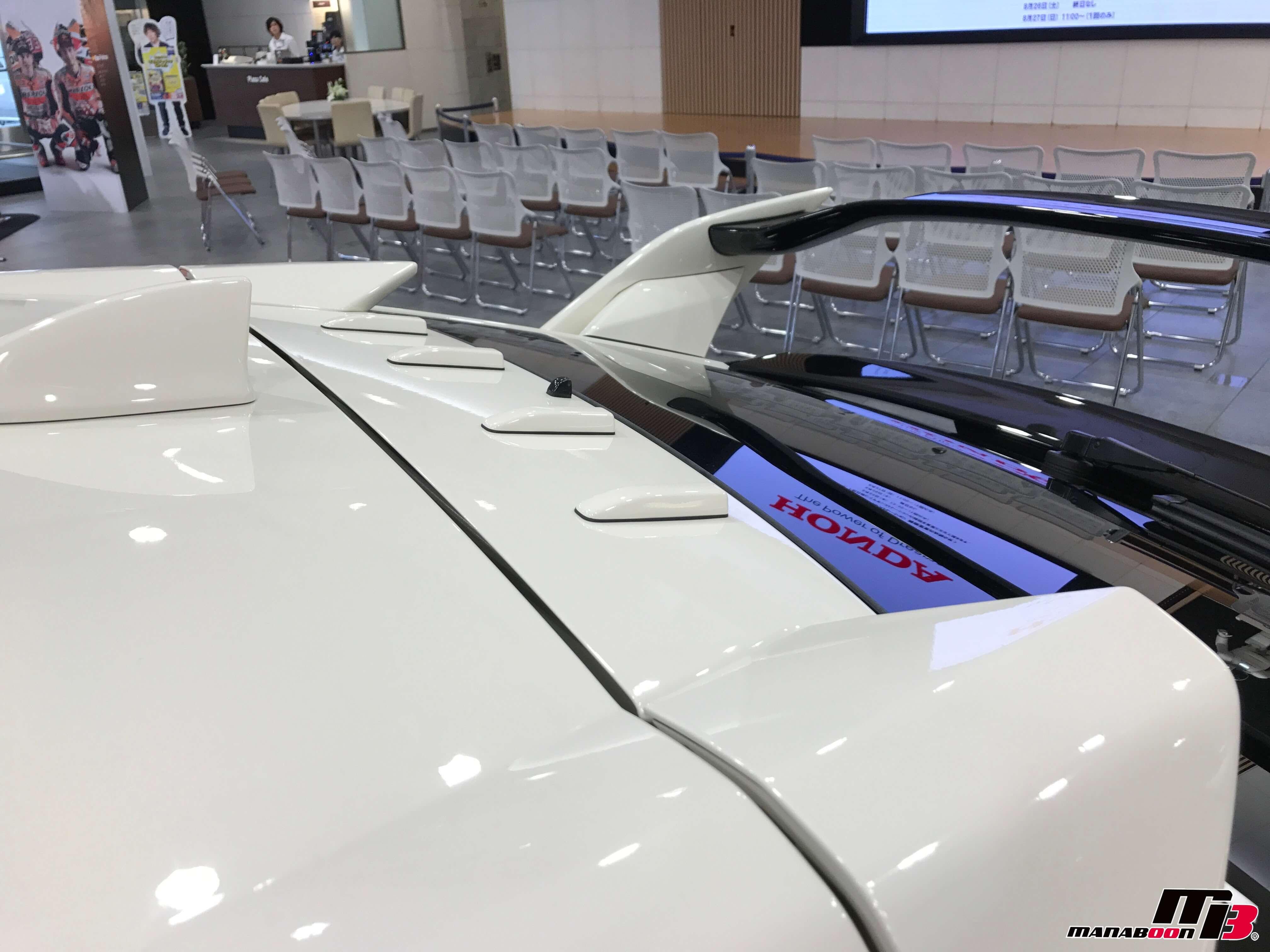 新型シビックタイプR(FK8)ボルテックス ジェネレータ画像