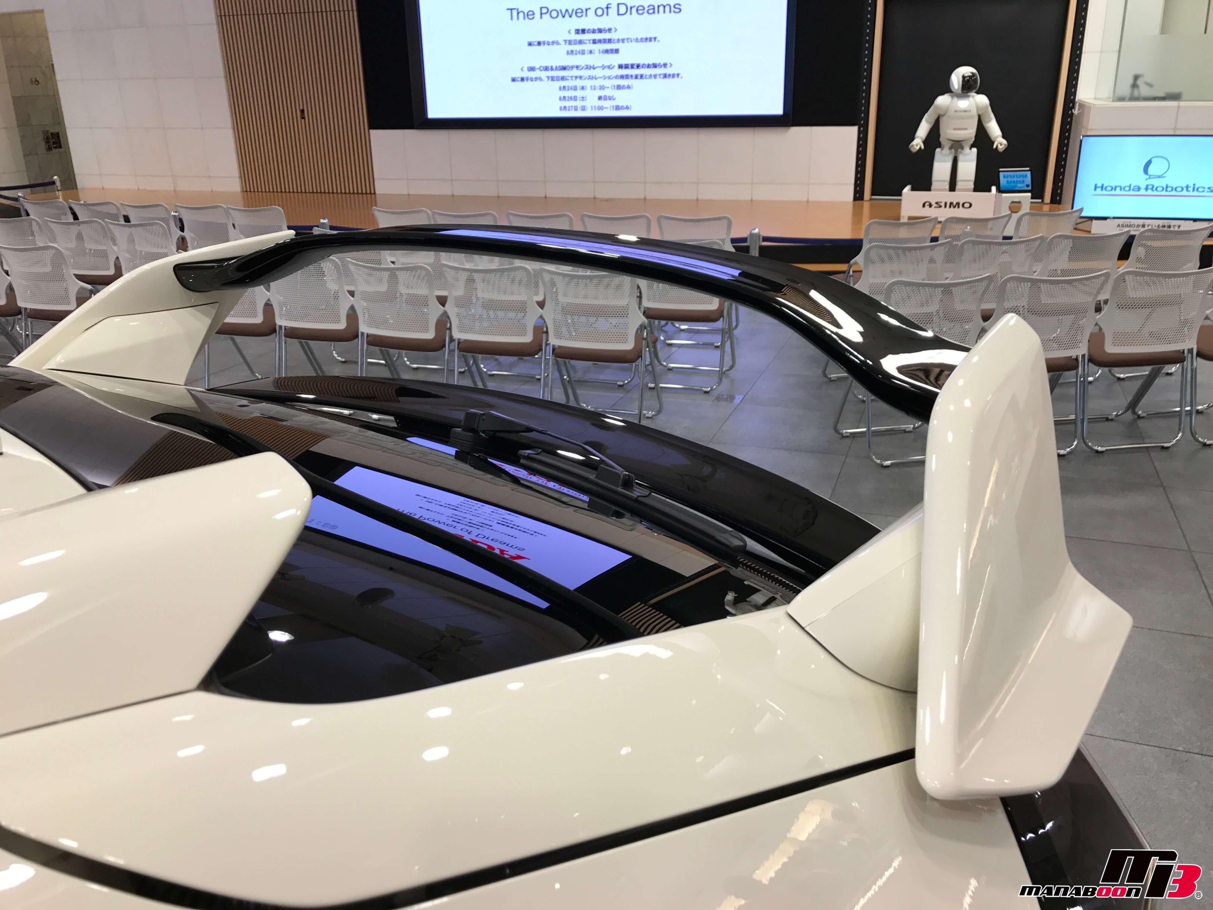 新型シビックタイプR(FK8)リアウィング画像