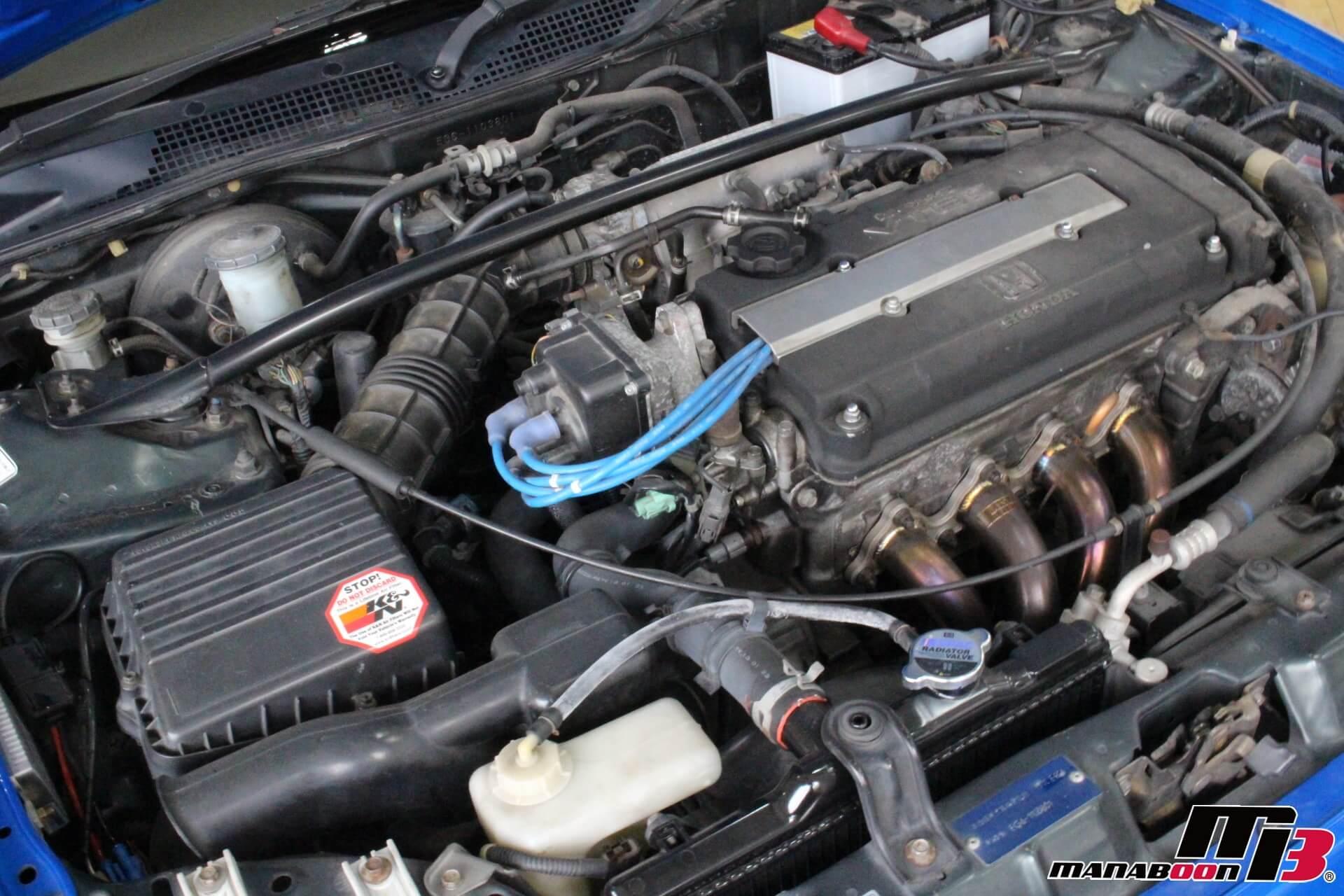 EG6シビックSiR2エンジン画像