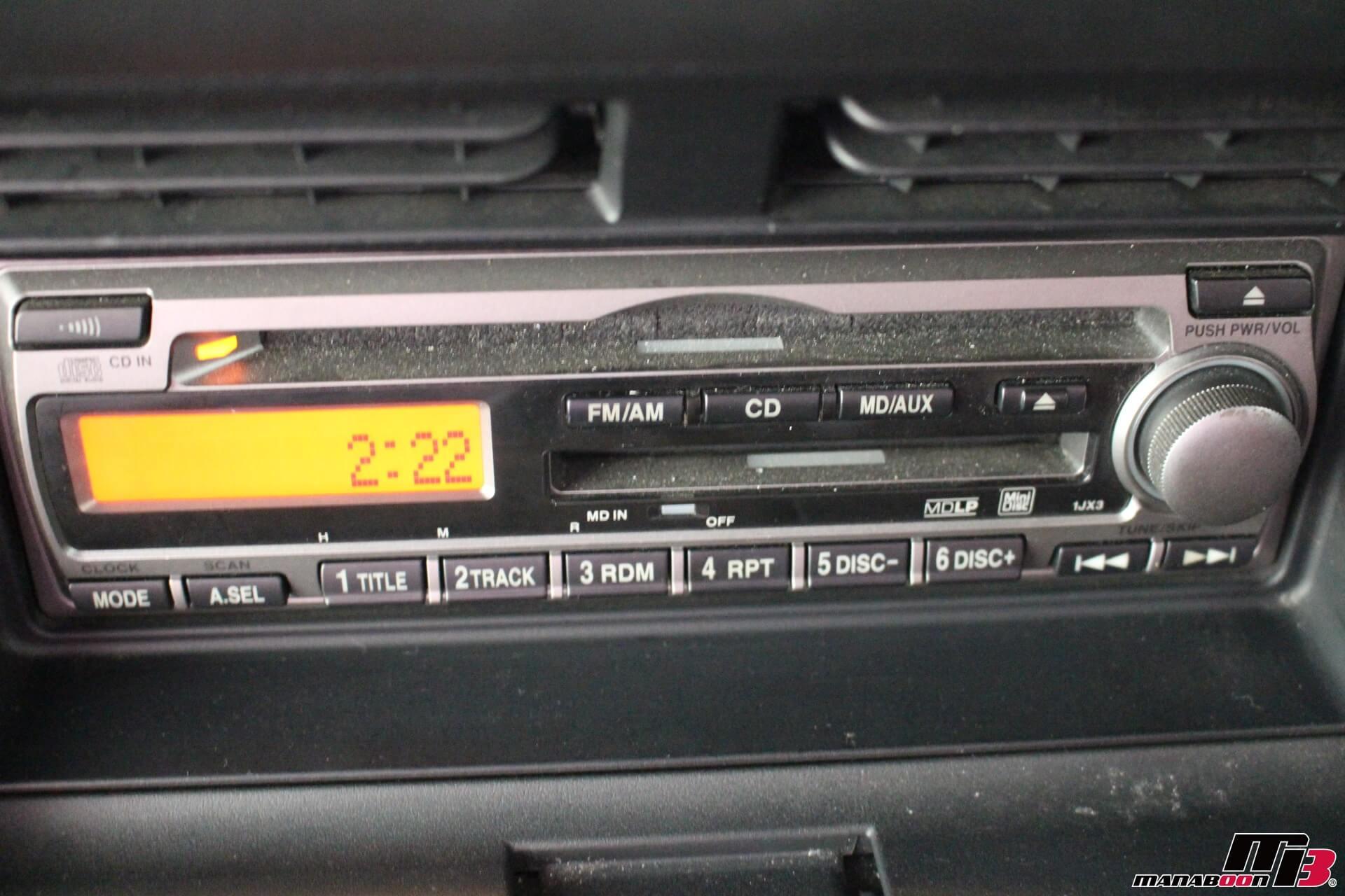 S2000(AP1)後期 CDMDデッキ画像