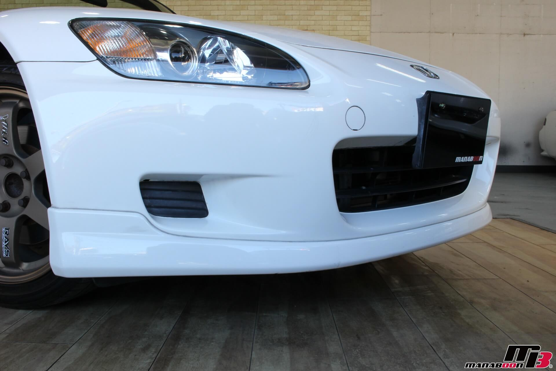 S2000(120型)チャンピオンシップホワイトModuloリップ画像