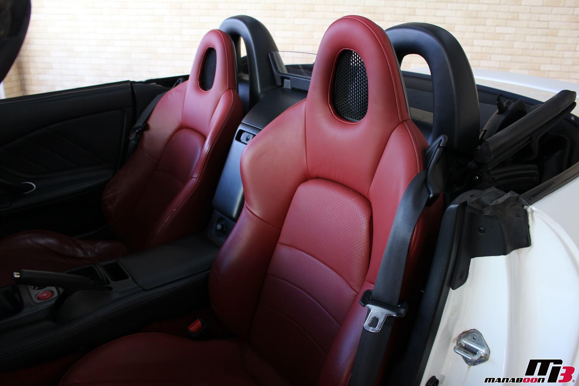 S2000(120型)赤革シート画像