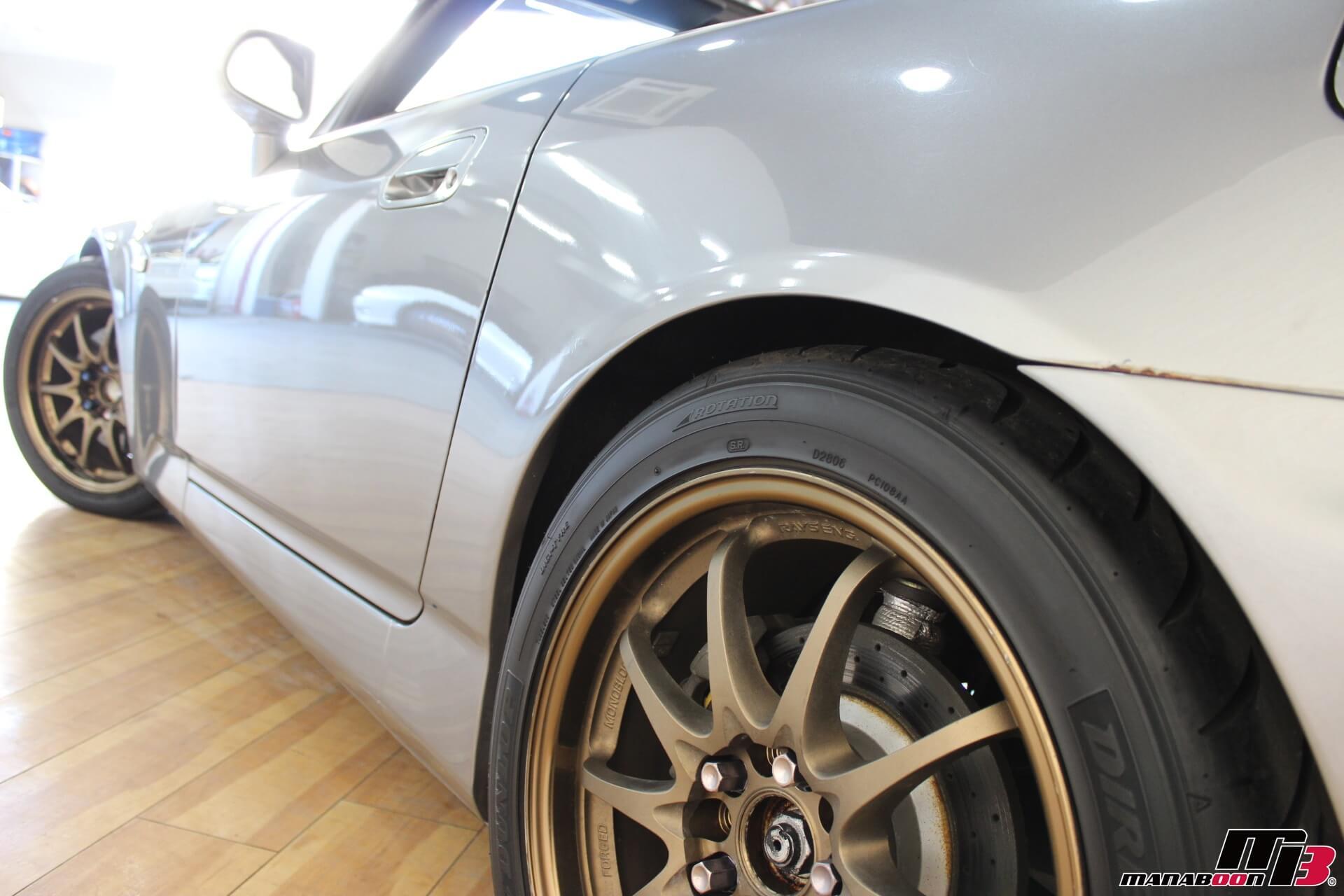 SPOON S2000 リノベーションカー 左側面画像