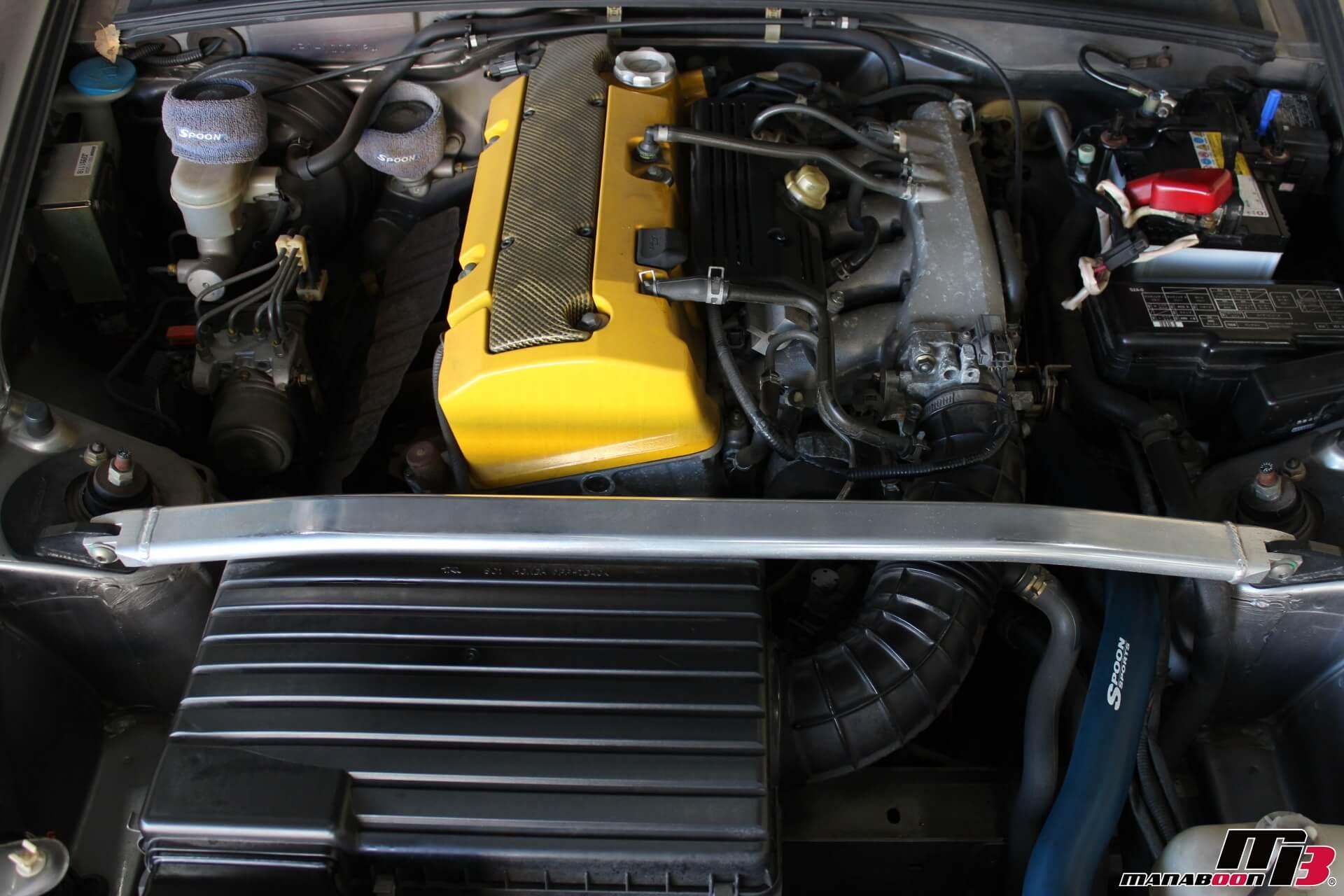 SPOON S2000 リノベーションカー エンジンルーム画像