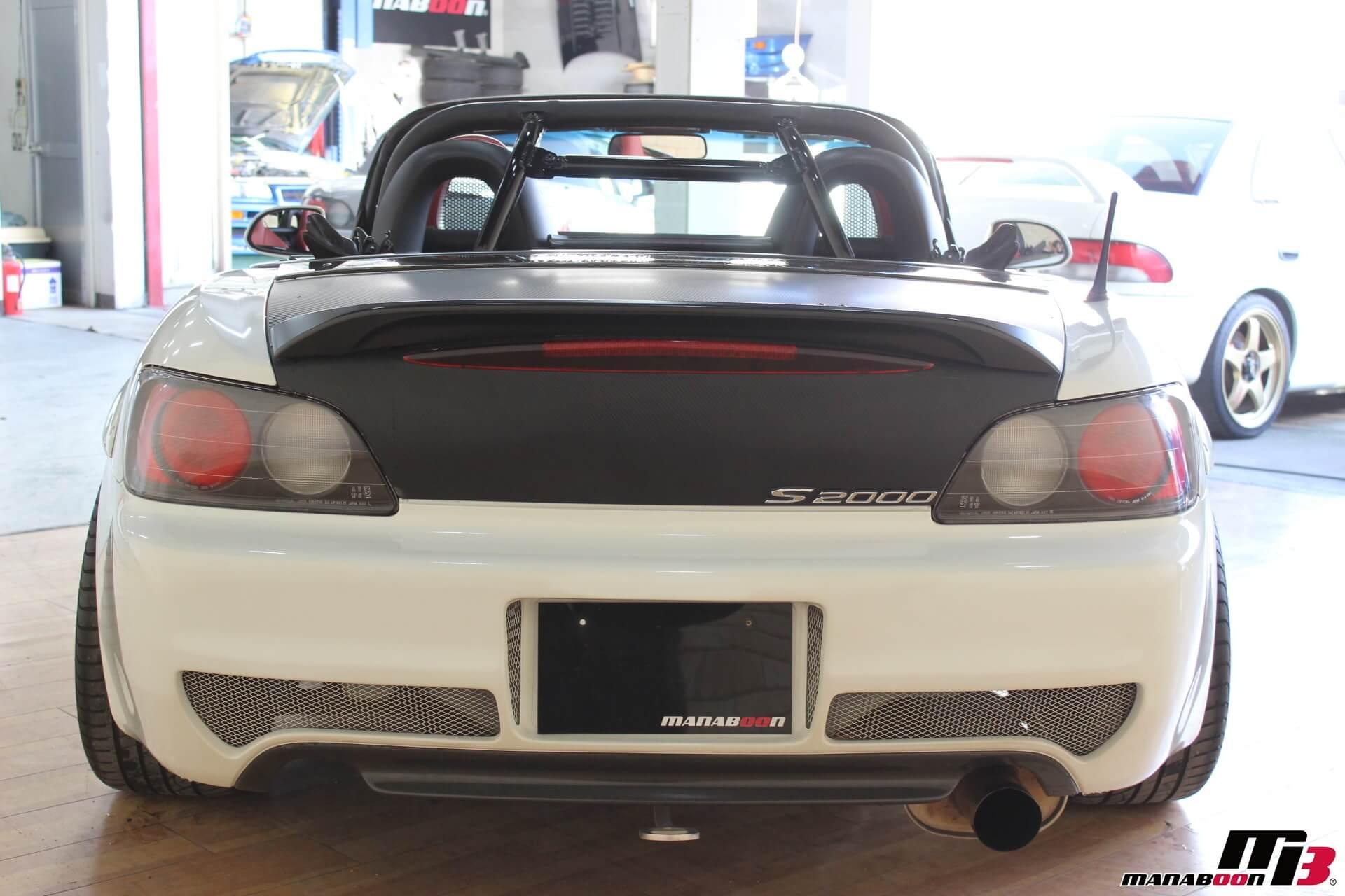 S2000 ASMリアバンパー画像