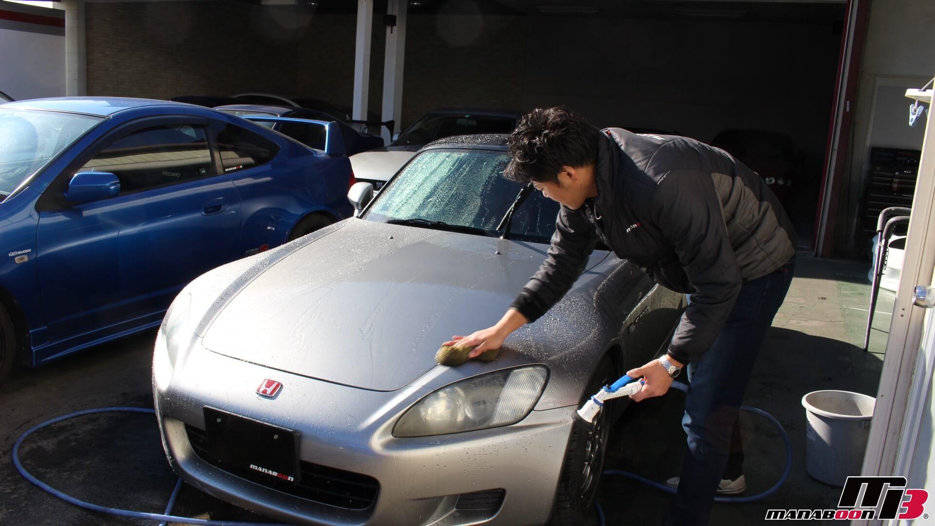 S2000洗車画像