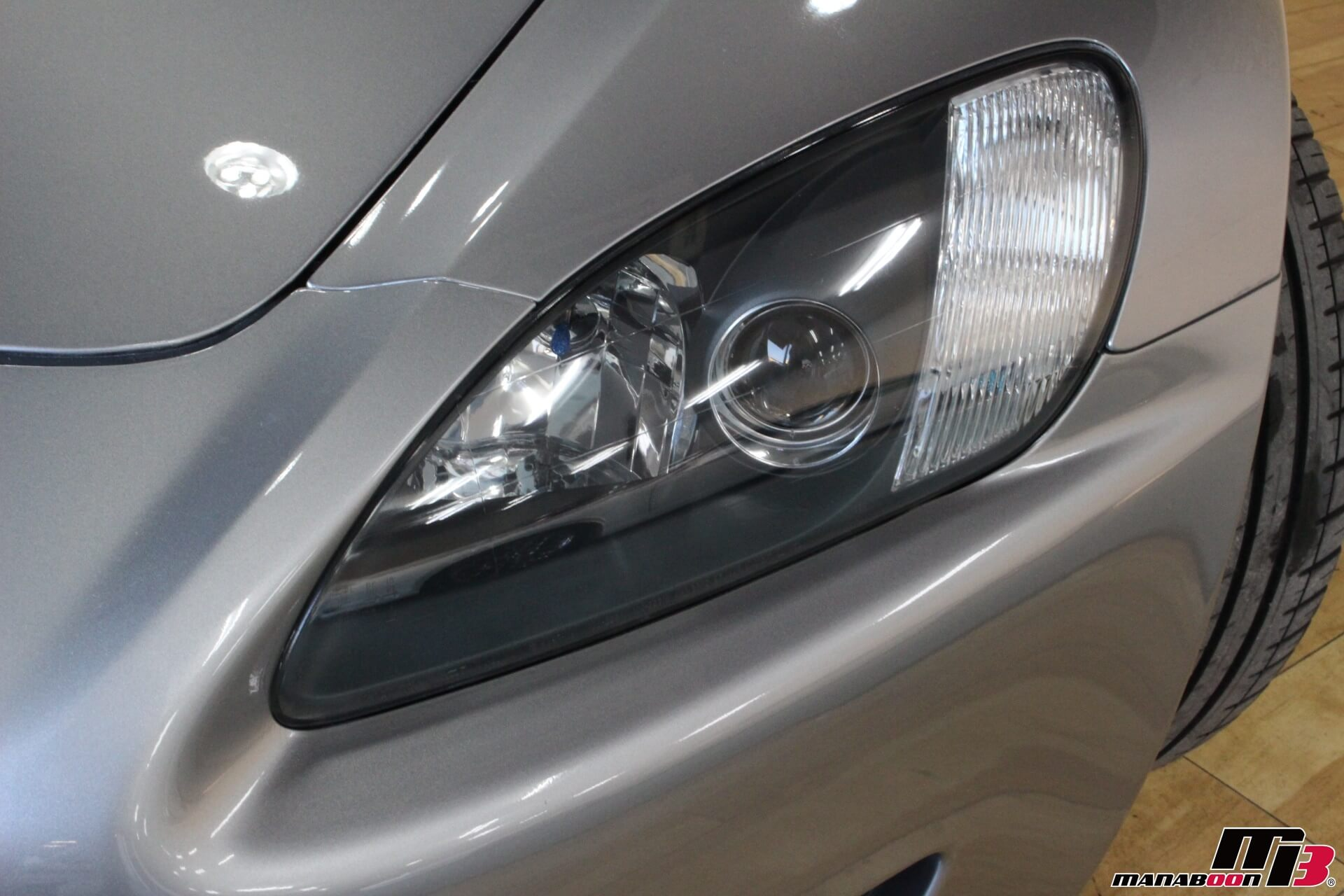 S2000左ヘッドライト画像