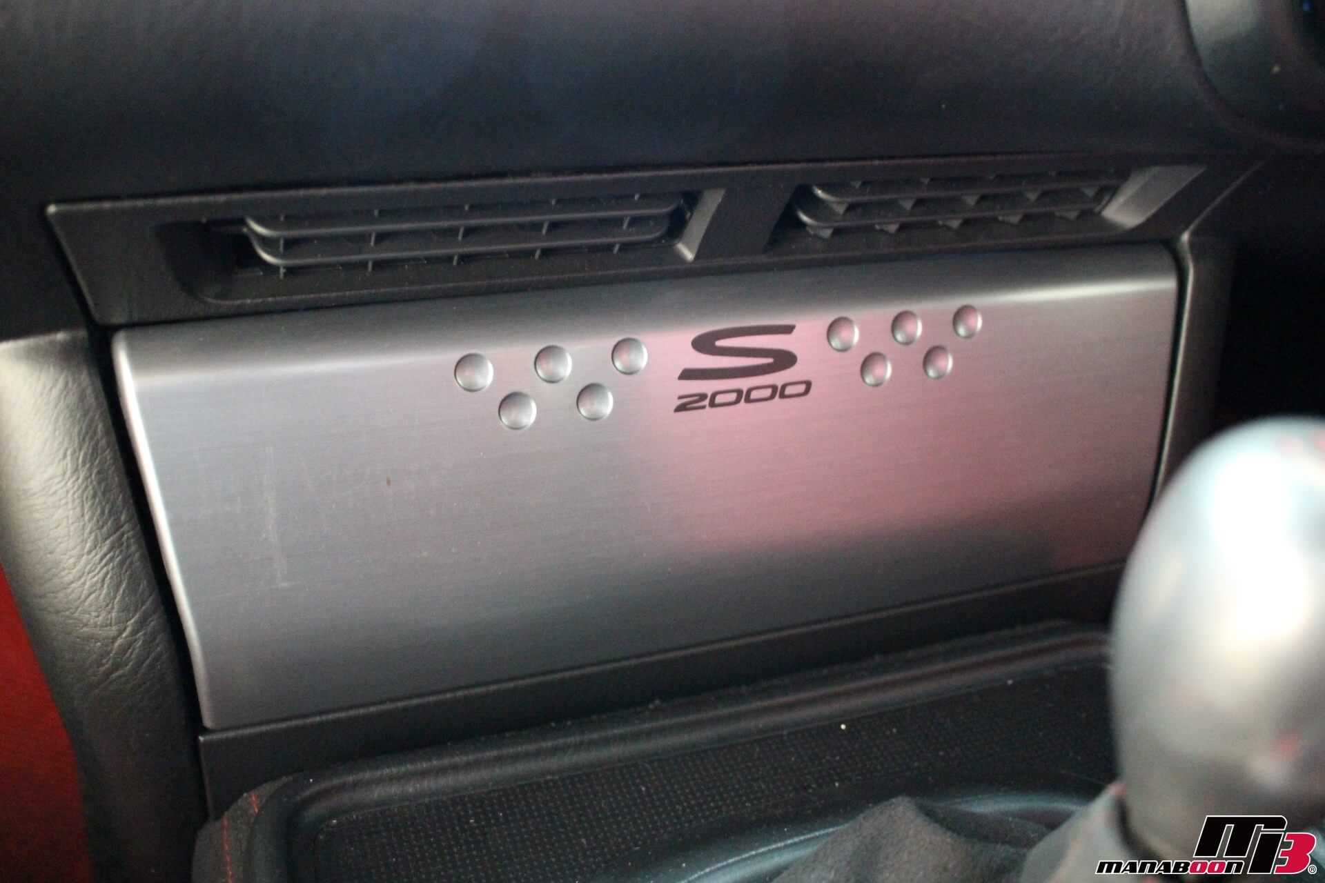 S2000オプションチタン調オーディオパネル画像