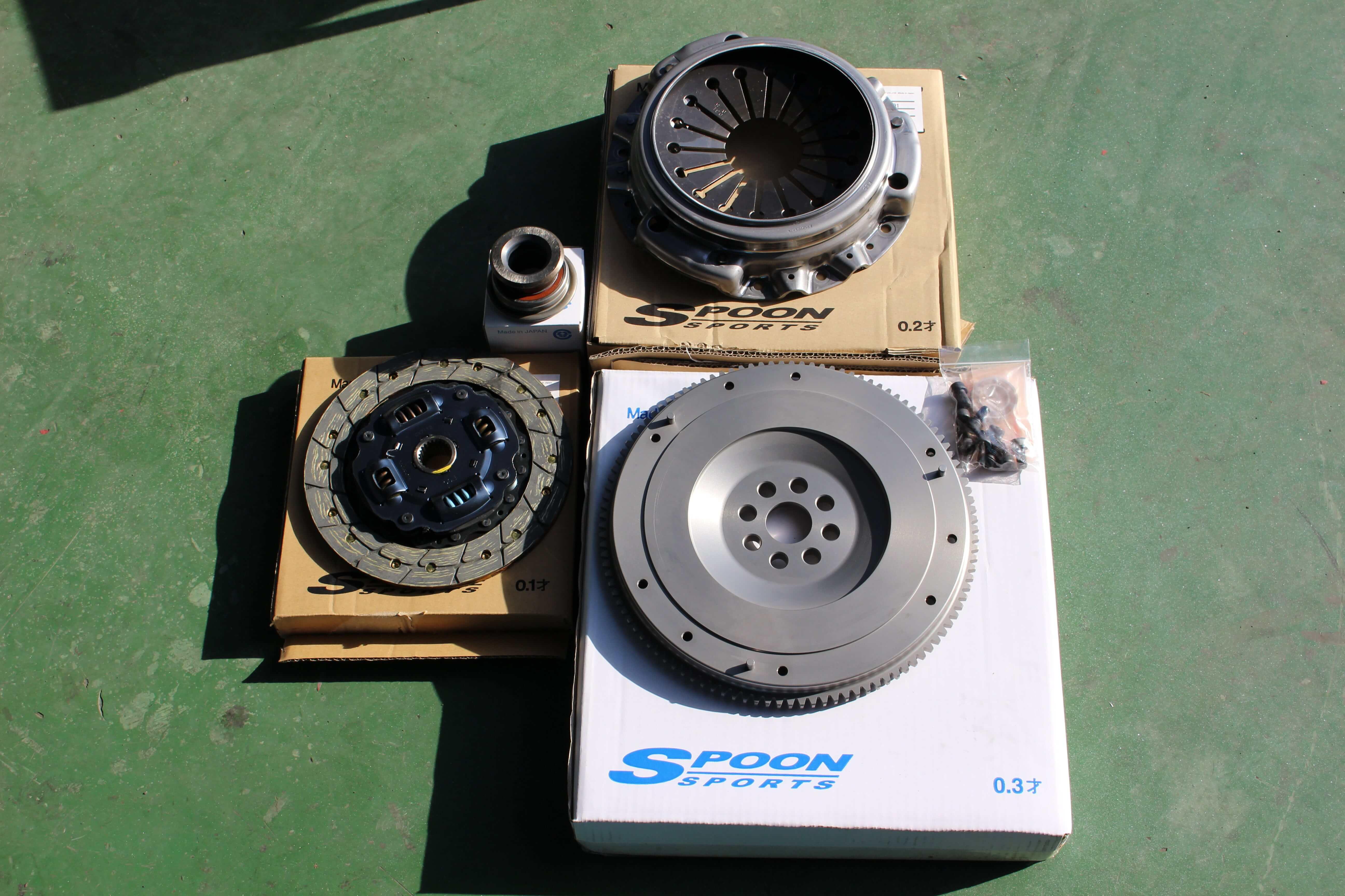 S2000 SPOONクラッチ&フライホイール画像