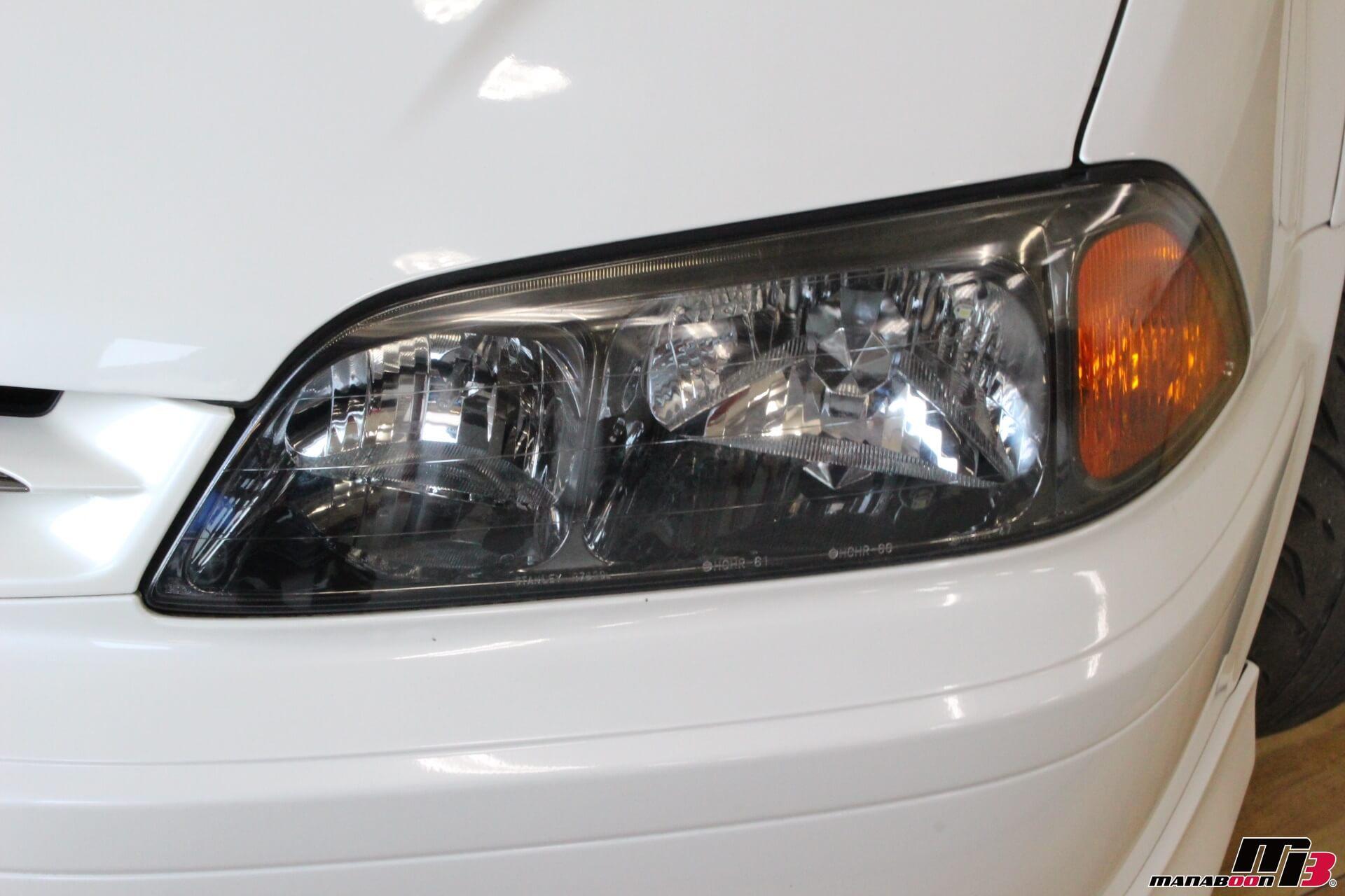 トルネオユーロR左ヘッドライト画像