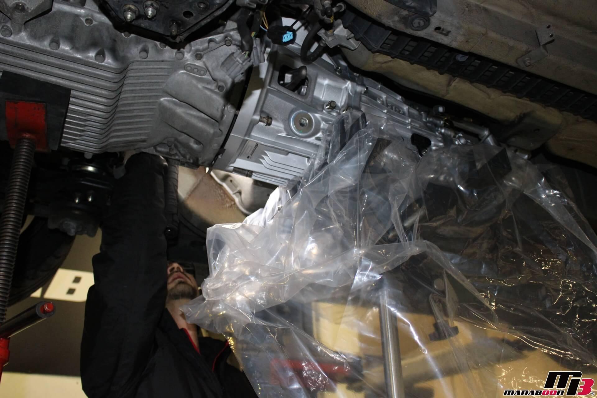 S2000 SPOONミッション取り付け画像