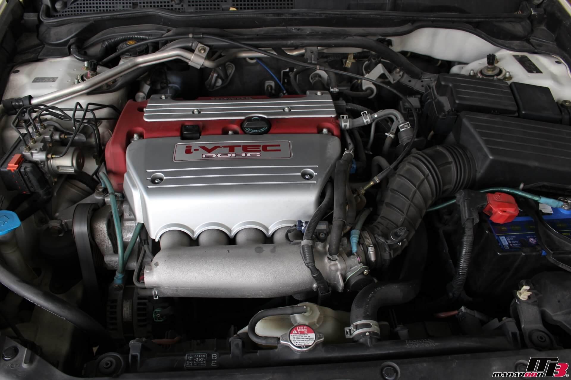 アコードユーロR(CL7)エンジン画像