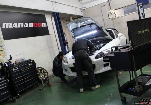S2000車高調取り付け画像