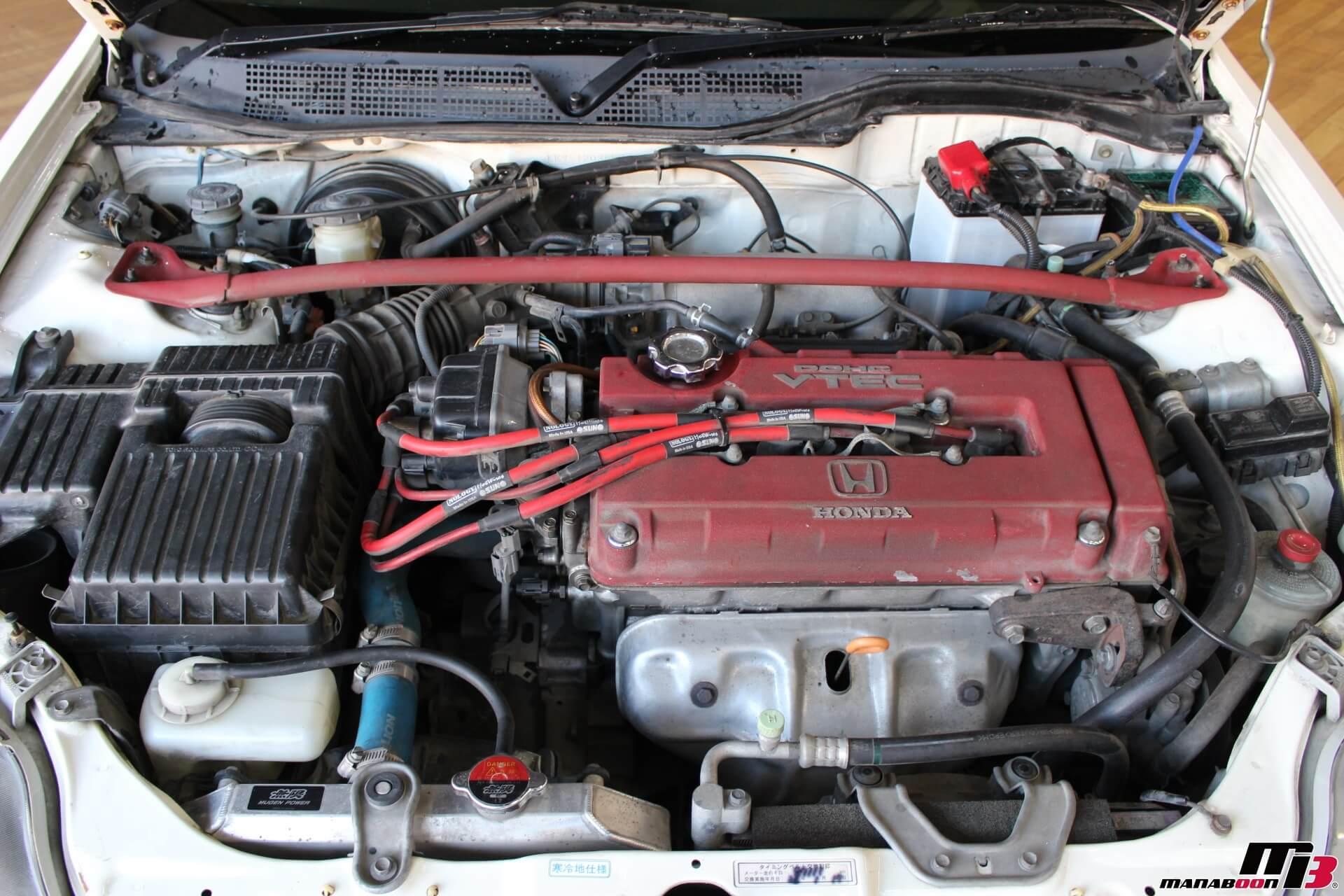 シビックタイプR X(EK9)B16Bエンジン画像
