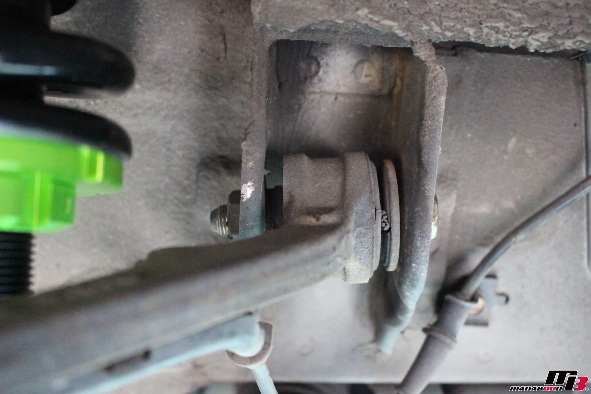 S2000(AP1)フロントアッパーアーム付け根画像