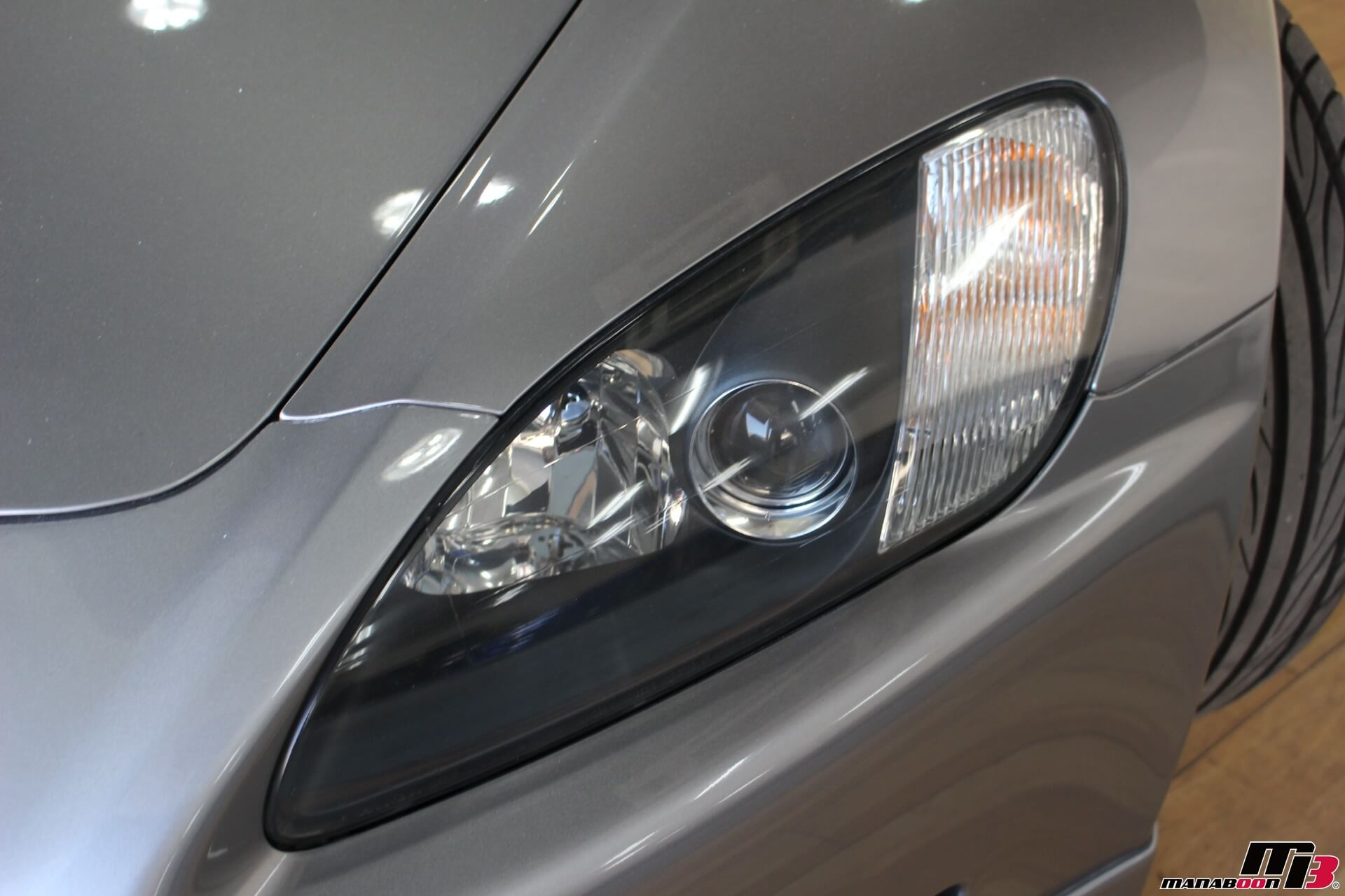 S2000(AP1)ヘッドライト画像