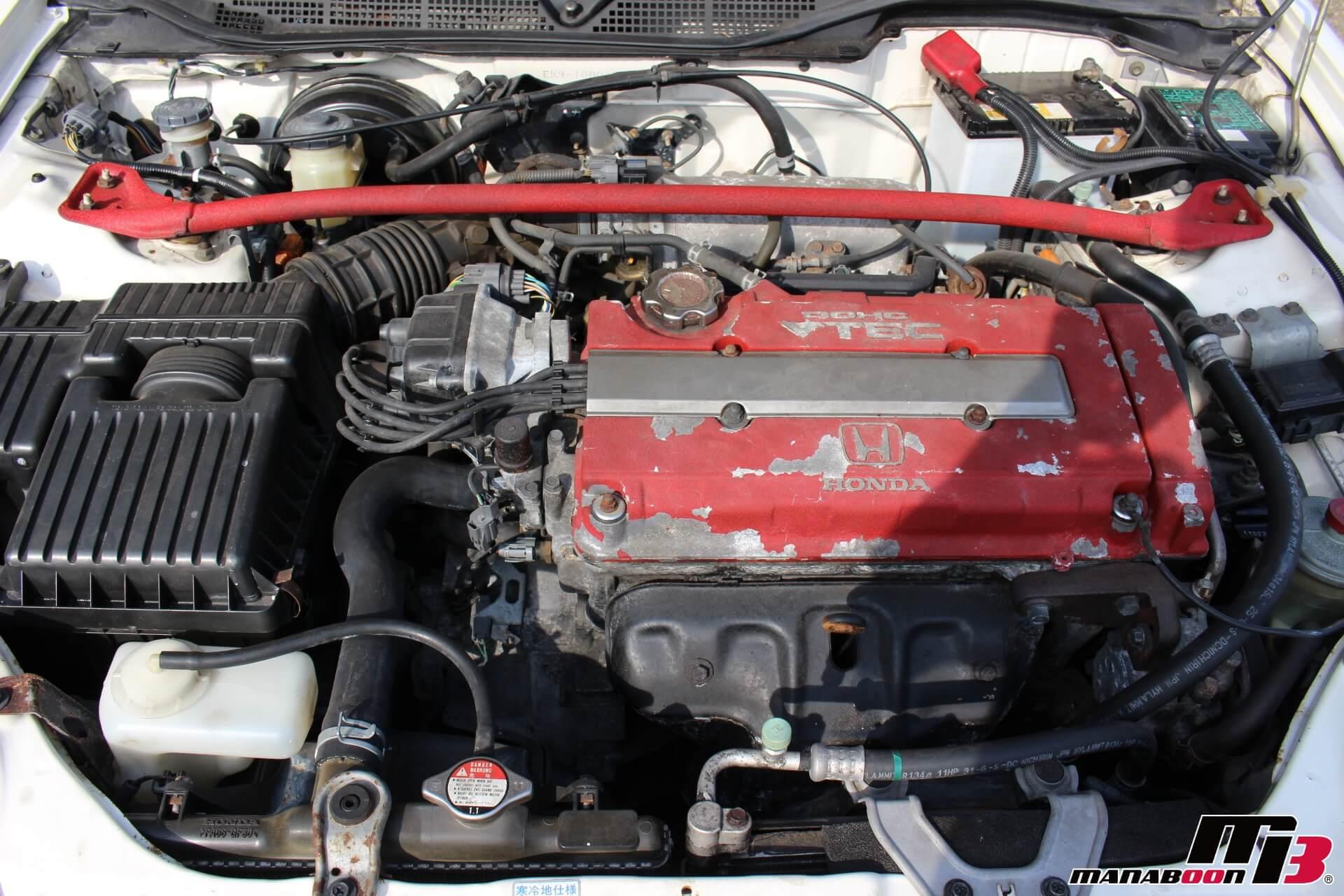 EK9エンジンルーム画像