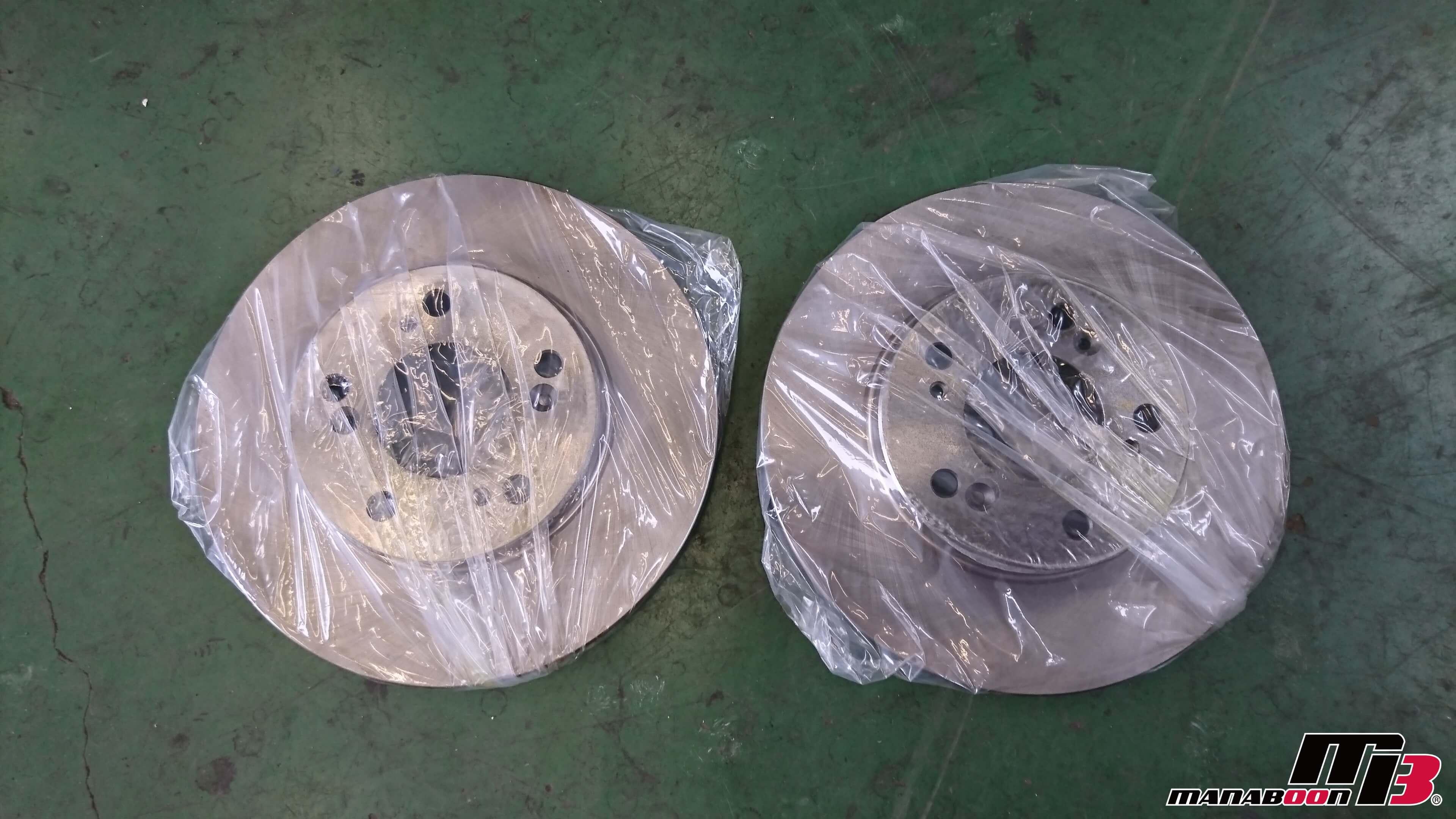 シビックタイプR(EK9)ブレーキパッドローター交換画像