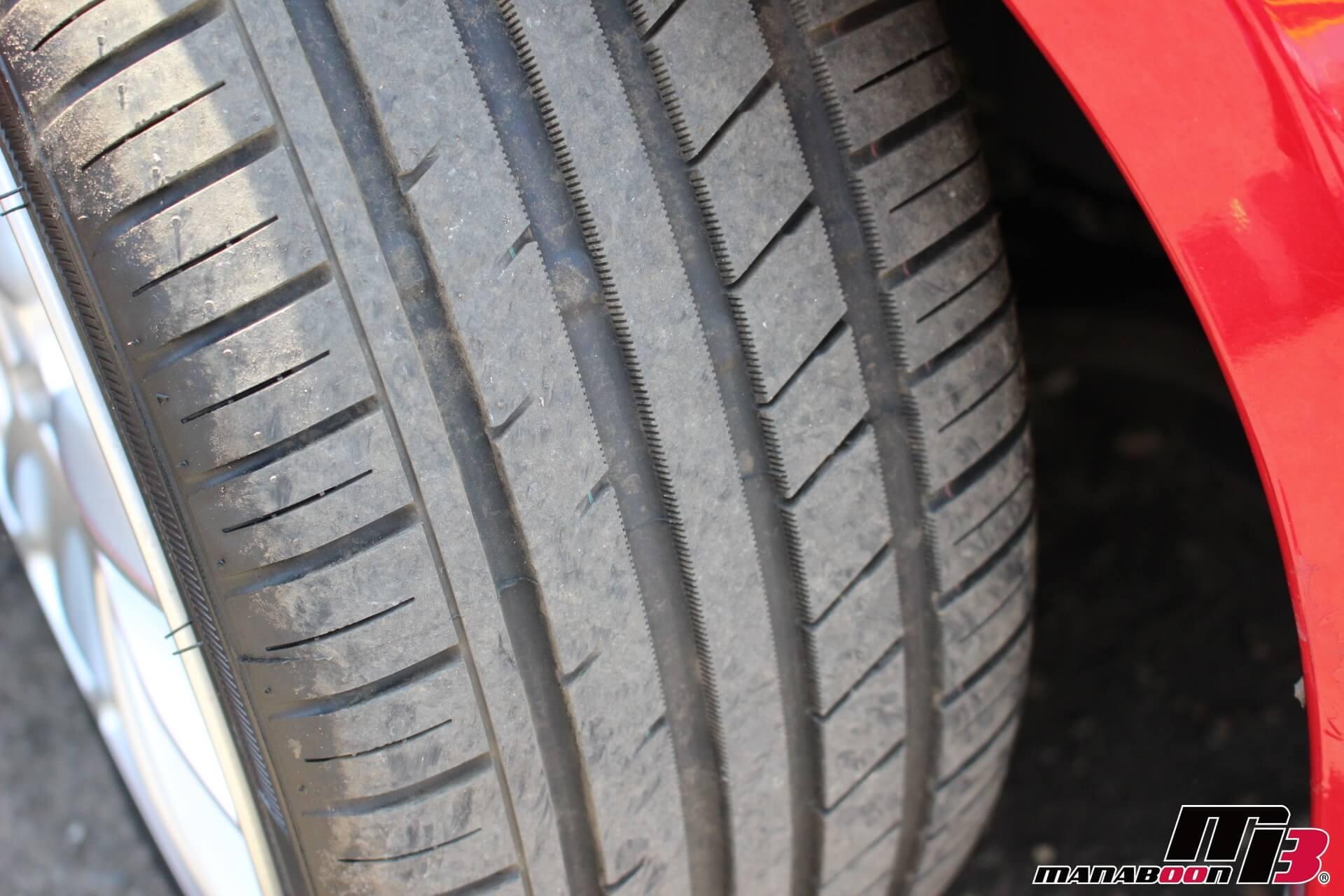 アコードユーロR新品タイヤ画像