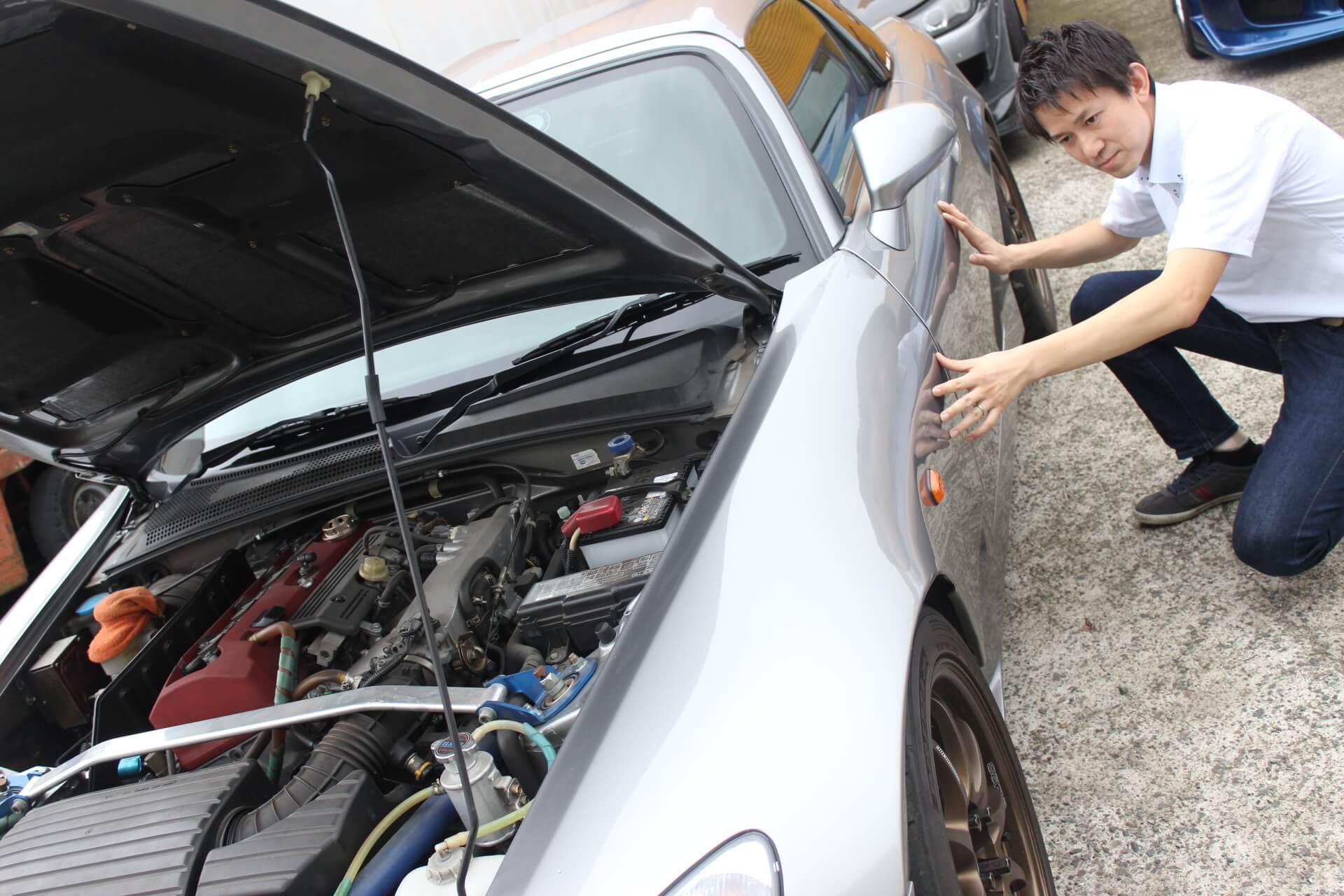 ホンダ車買取査定画像