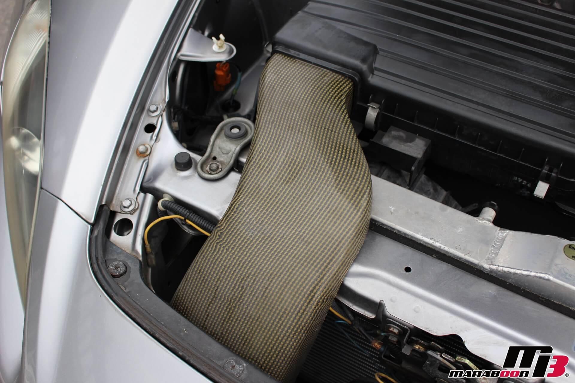 S2000 SPOONカーボンエアダクト画像