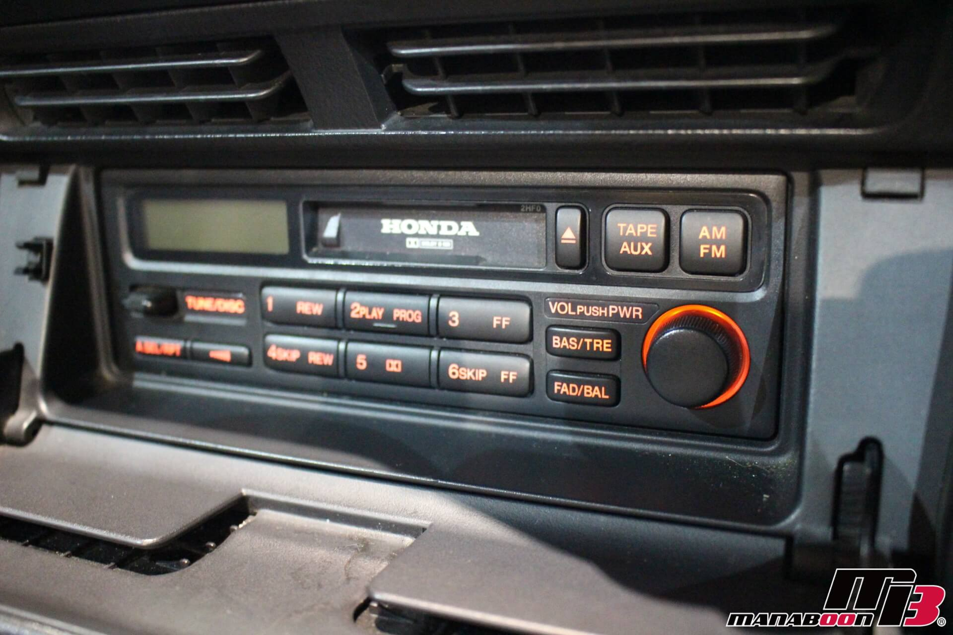 S2000(AP1)純正カセットデッキ画像