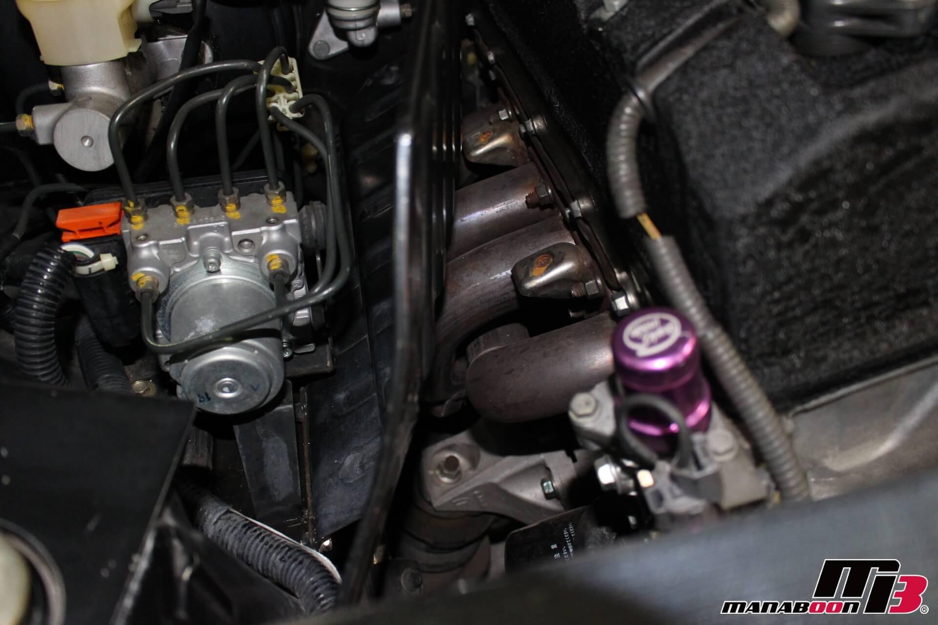 S2000 社外エキマニ画像