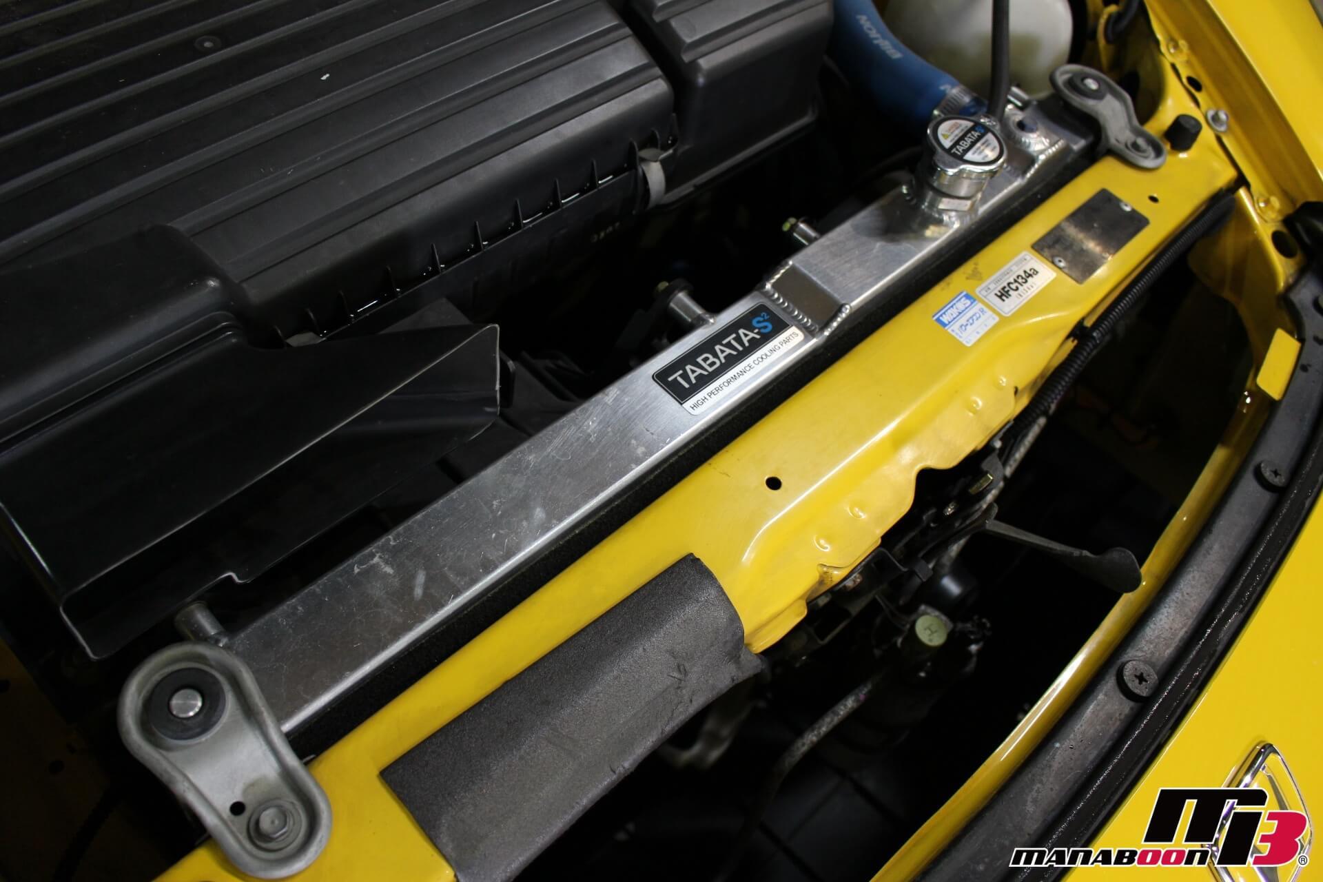S2000(AP1)タバタラジエター画像