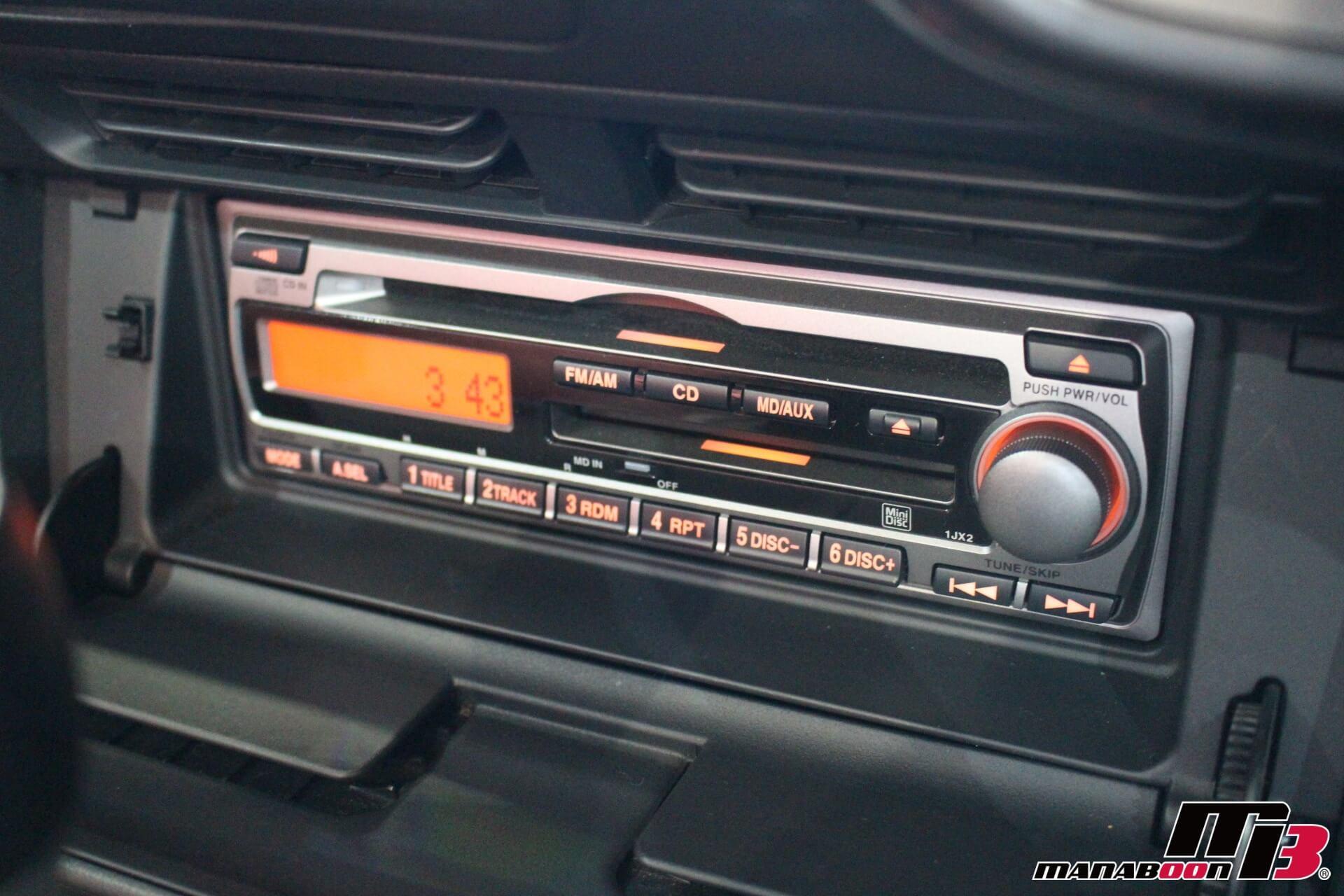 S2000純正CDMDデッキ画像