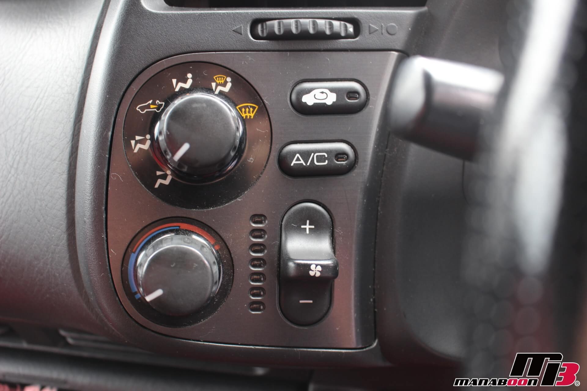 S2000 エアコンスイッチ画像