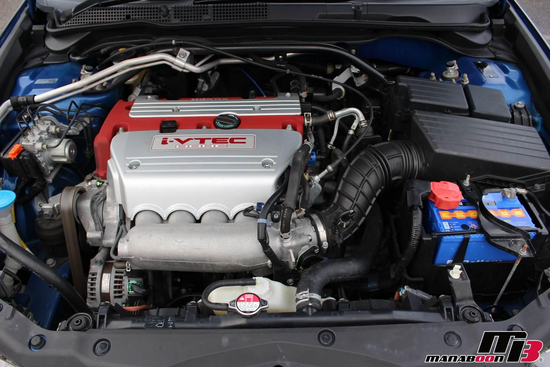 アコードユーロR(CL7)後期 K20Aエンジン画像