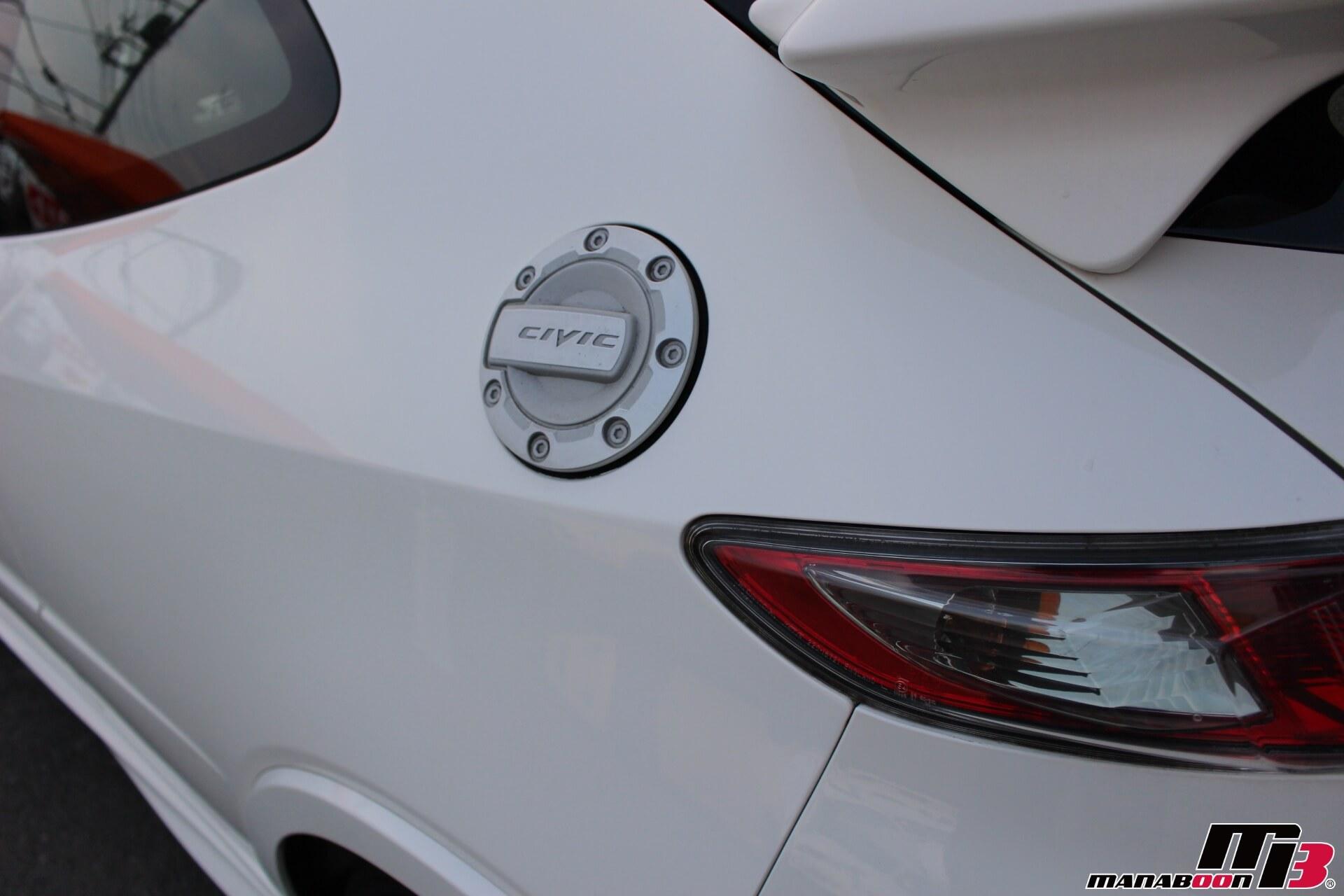 シビックタイプRユーロ給油口画像