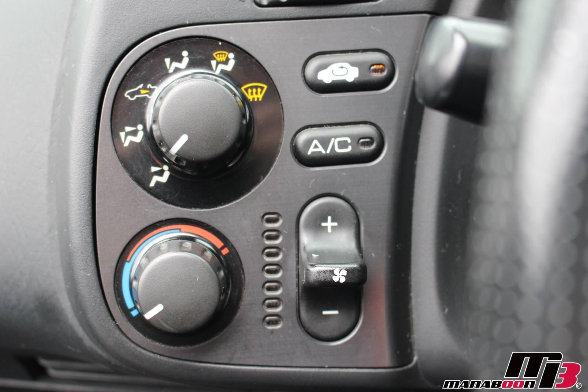 S2000エアコンパネルスイッチ画像
