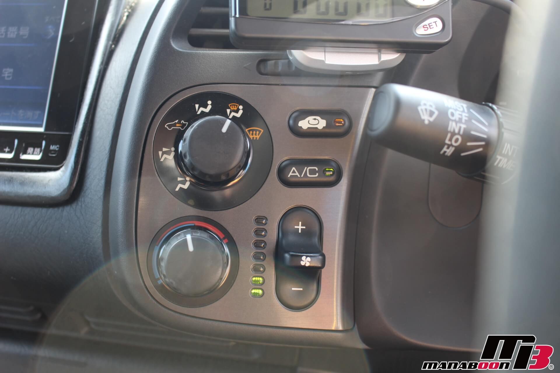 S2000エアコンスイッチ画像