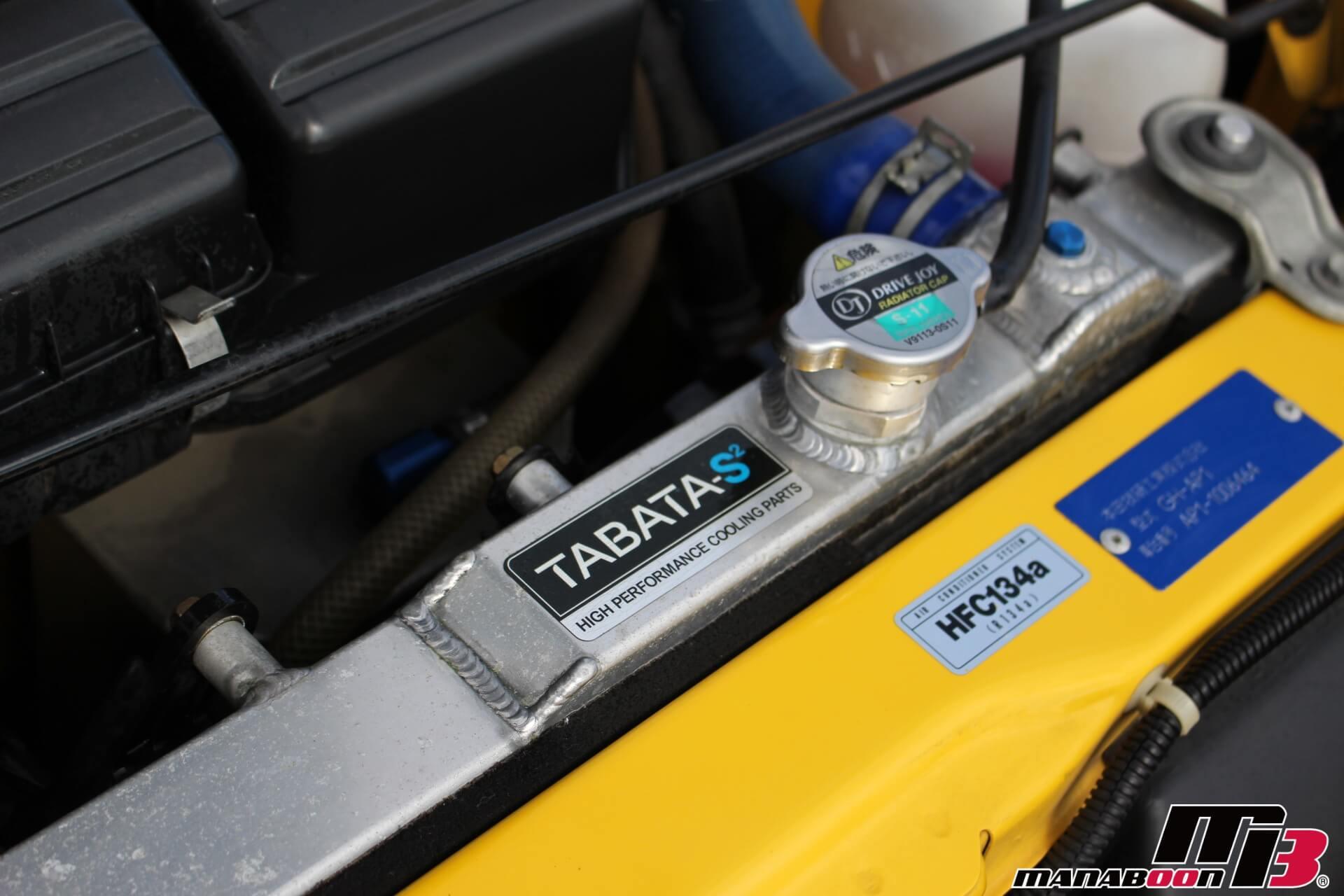 S2000タバタアルミラジエター画像