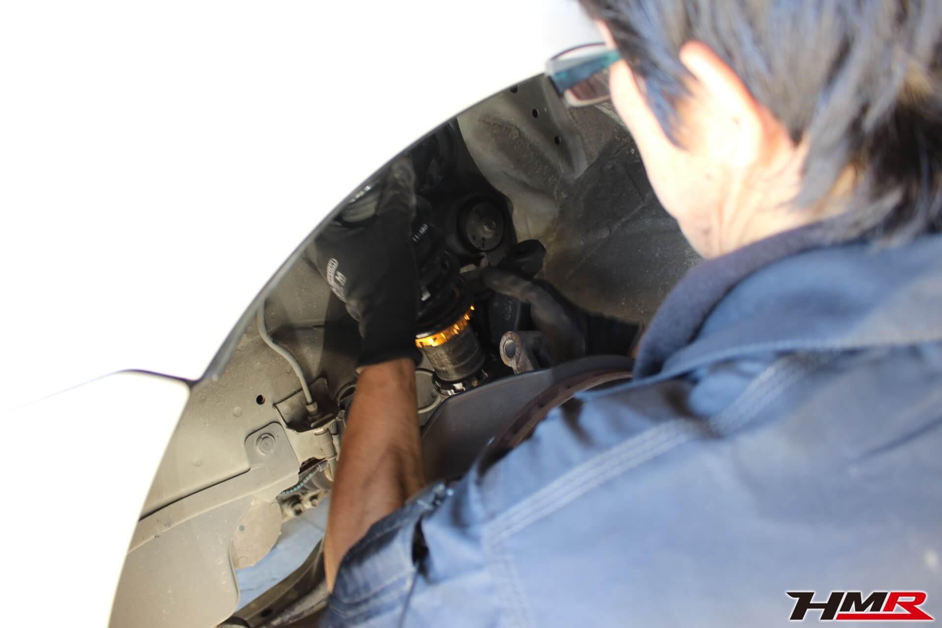 インテグラタイプR(DC5) 車高調交換画像