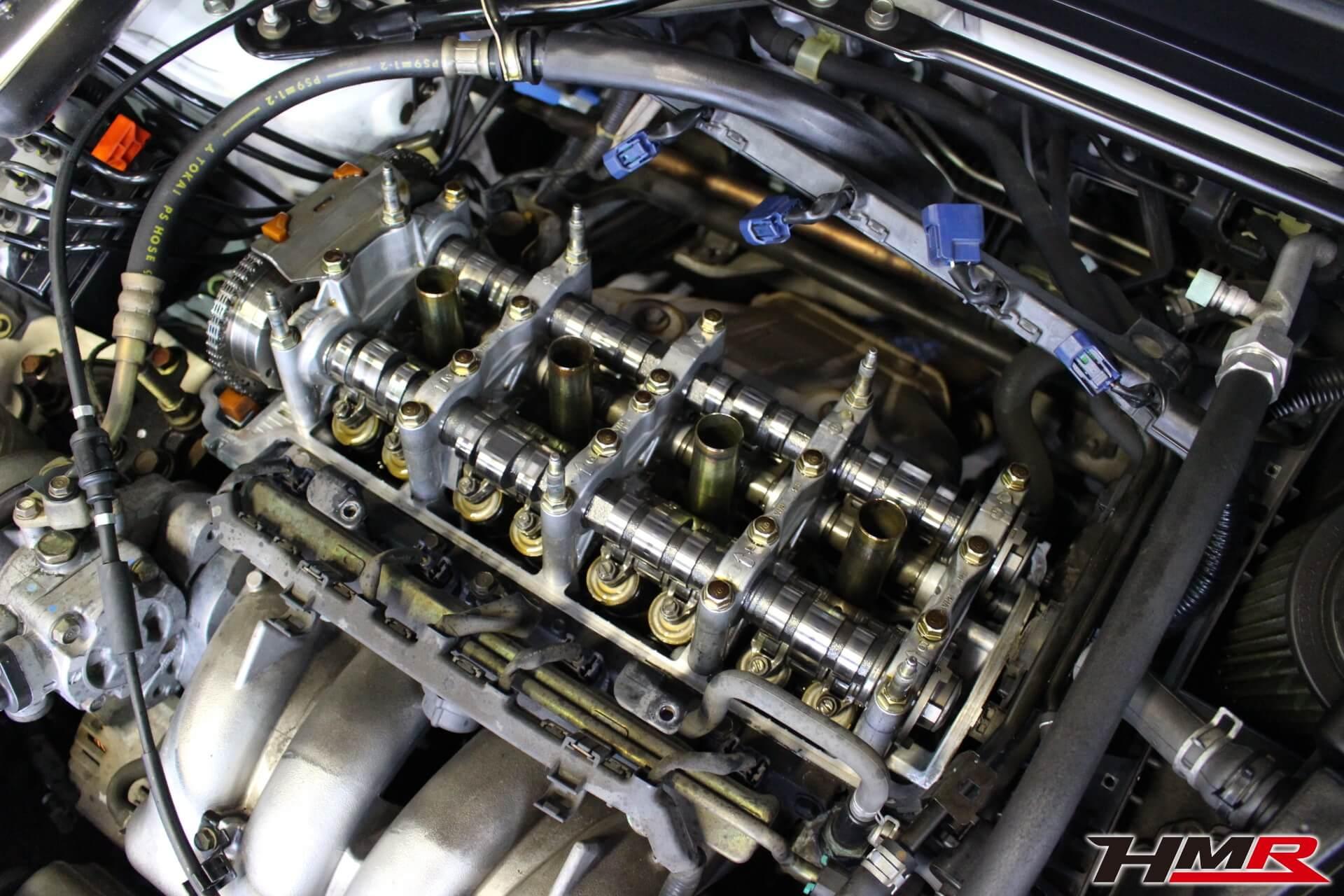 インテグラタイプR(DC5)ヘッドカバーパッキン交換画像