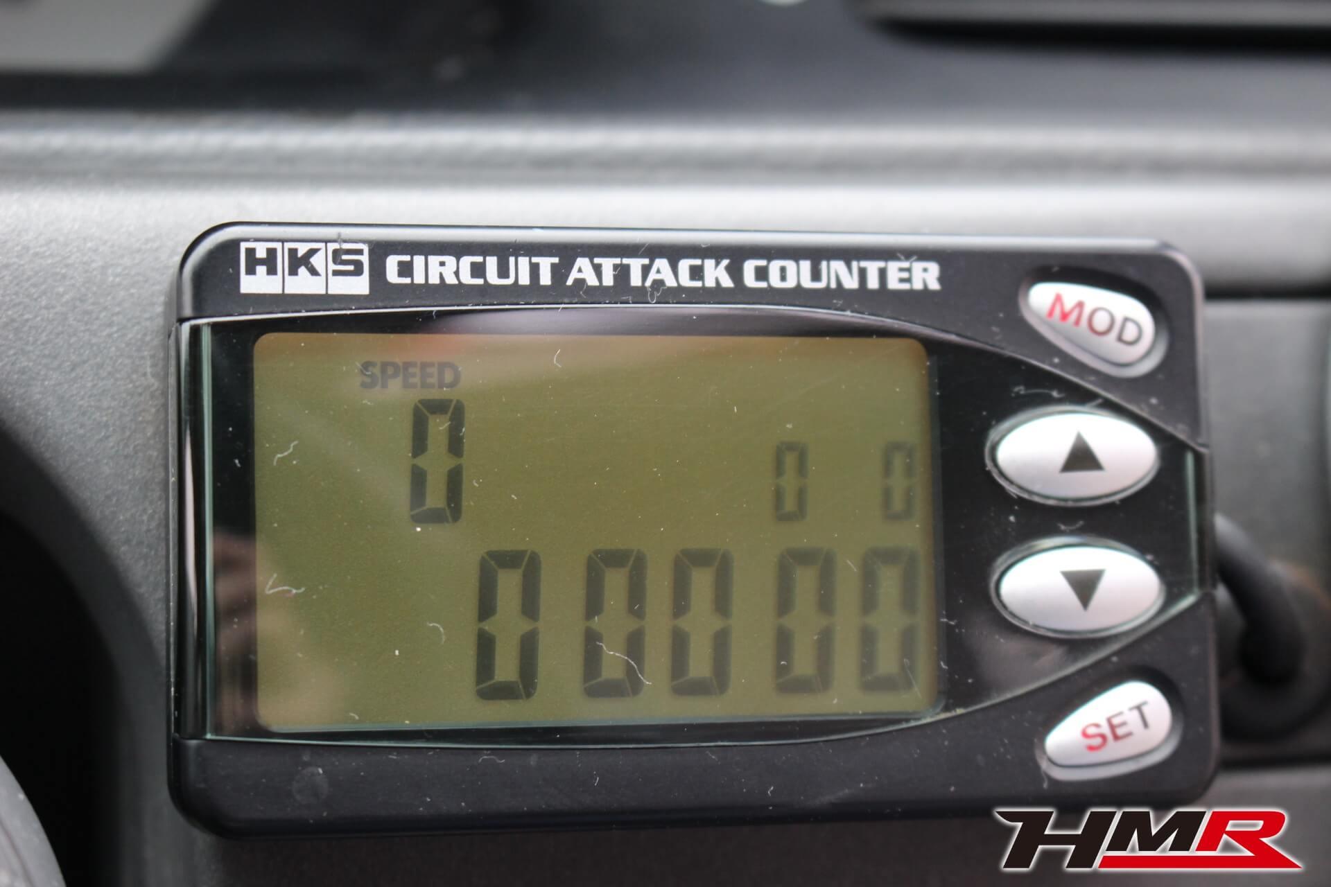 HKSサーキットアタックカウンター画像