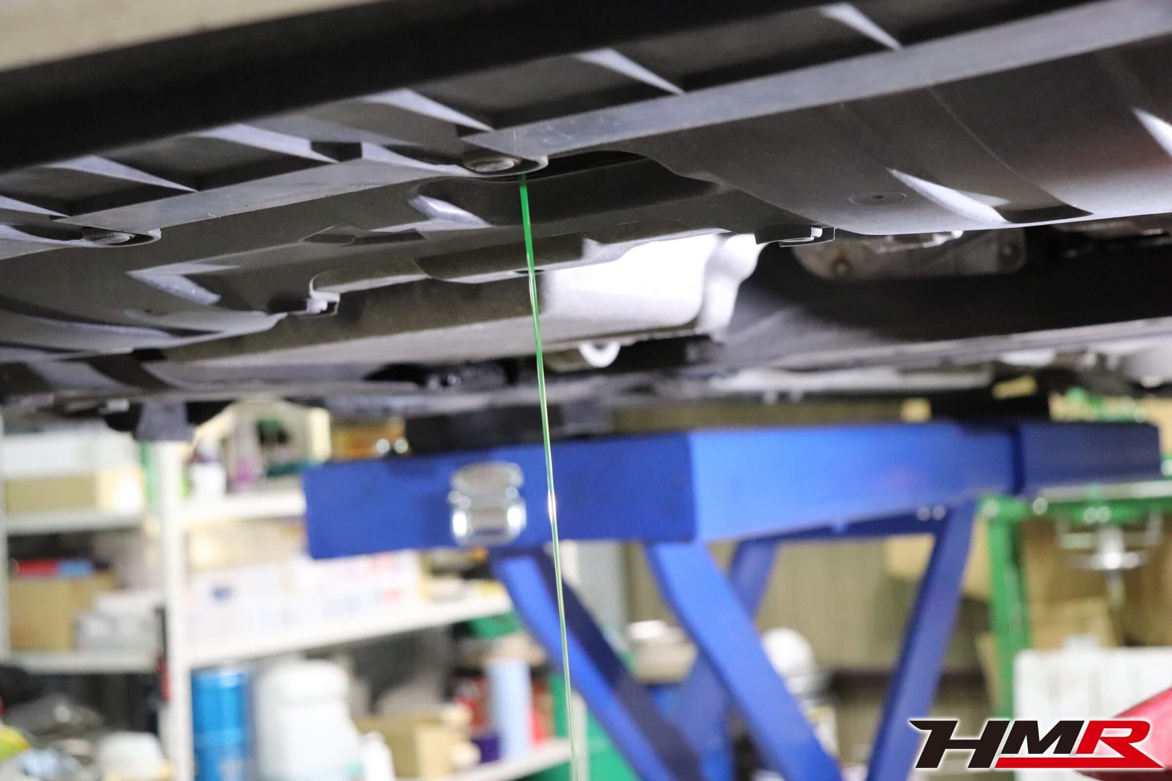 シビックタイプR(FD2)冷却水交換画像