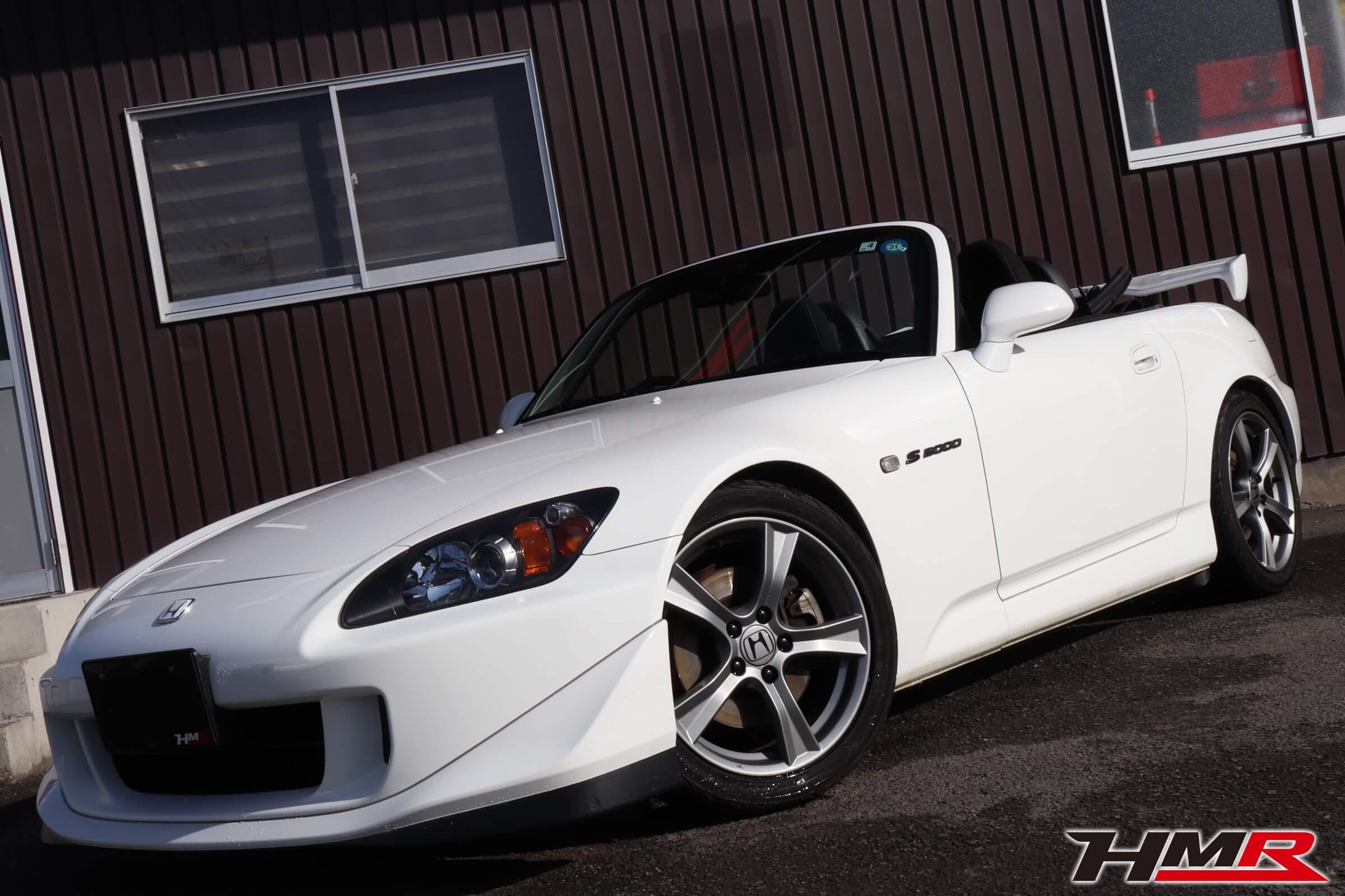 S2000タイプS グランプリホワイト画像