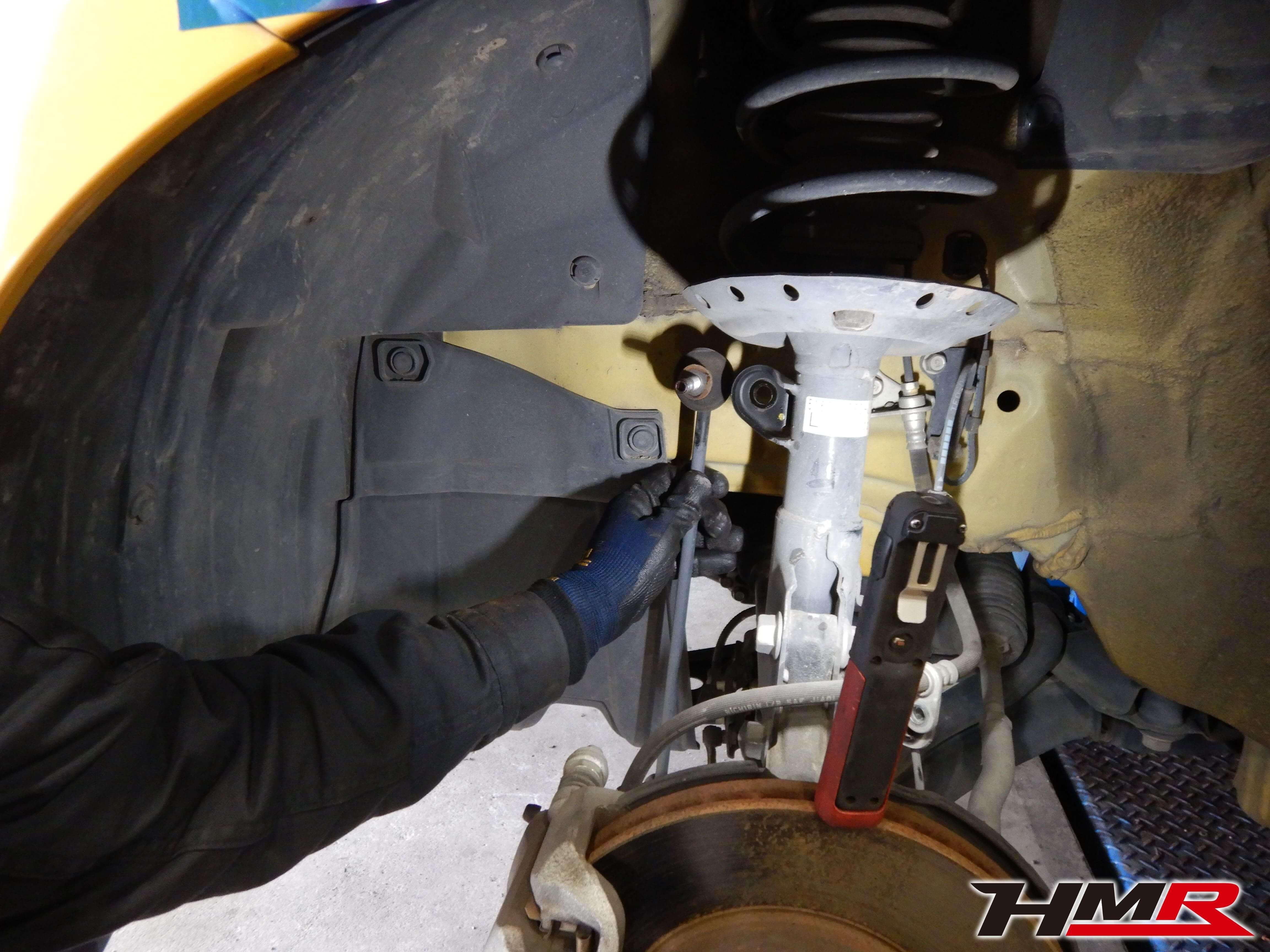 フィットRS(GE8)車高調取り付け