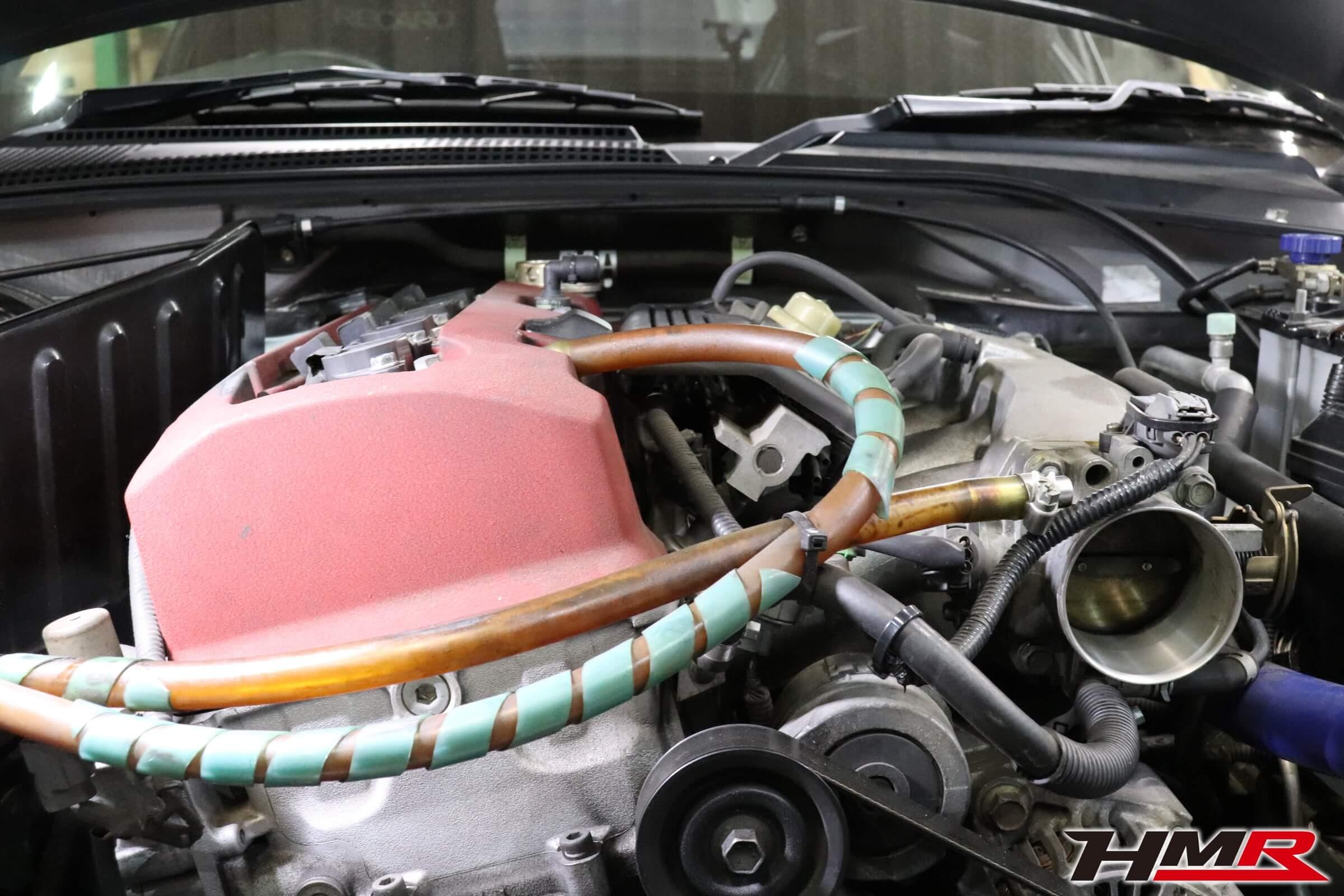 S2000 CSOローマウントエンジンブラケット取り付け画像