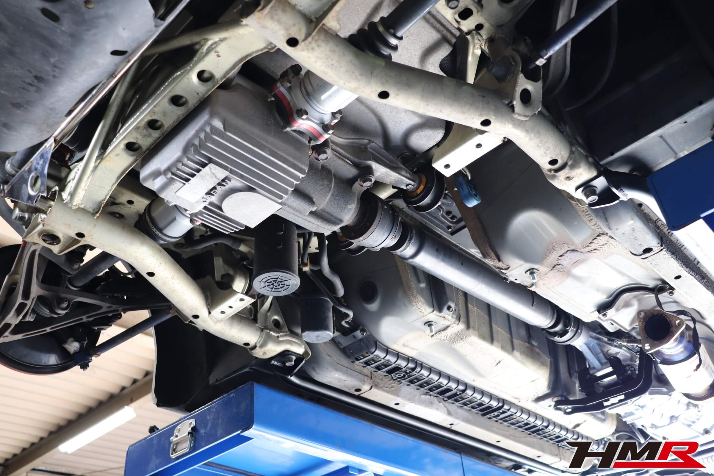 S2000 ASMリアクロスバーGT取り付け画像