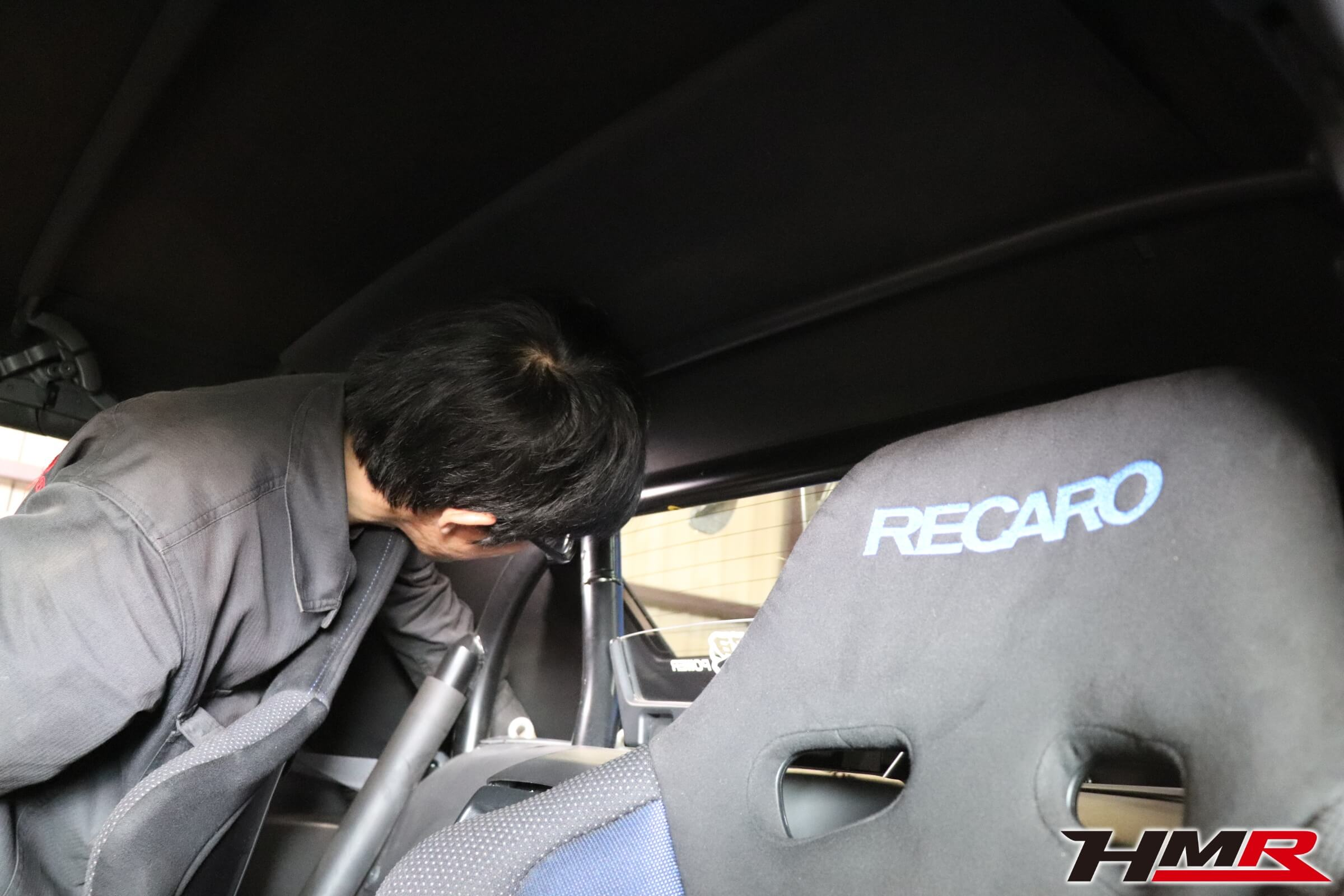 S2000幌交換作業