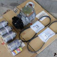 インテグラタイプR(DC2)エアコンコンプレッサー交換