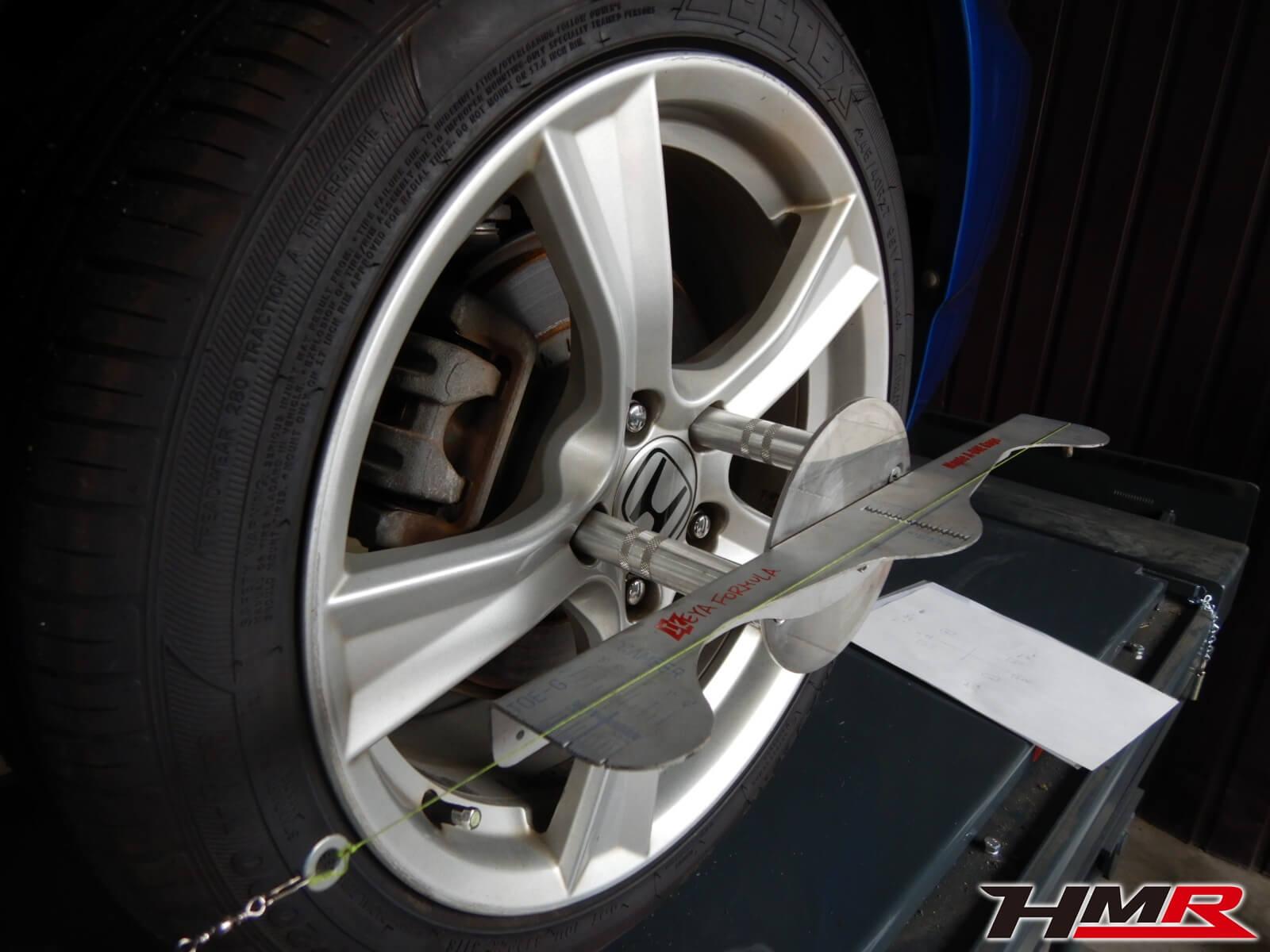 S2000(AP2)ロアアーム アライメント調整